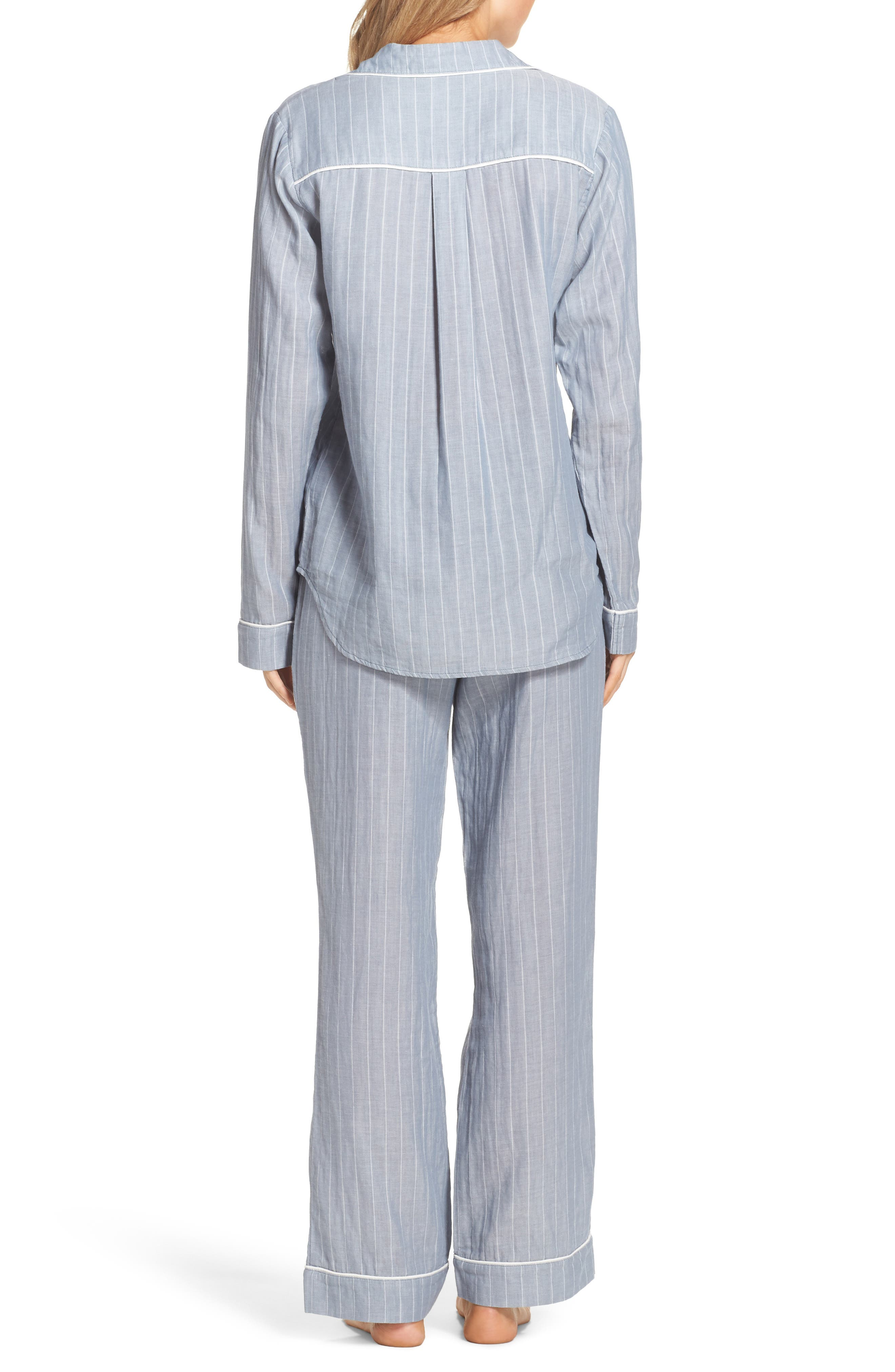 Alternate Image 2  - UGG® Raven Stripe Pajamas