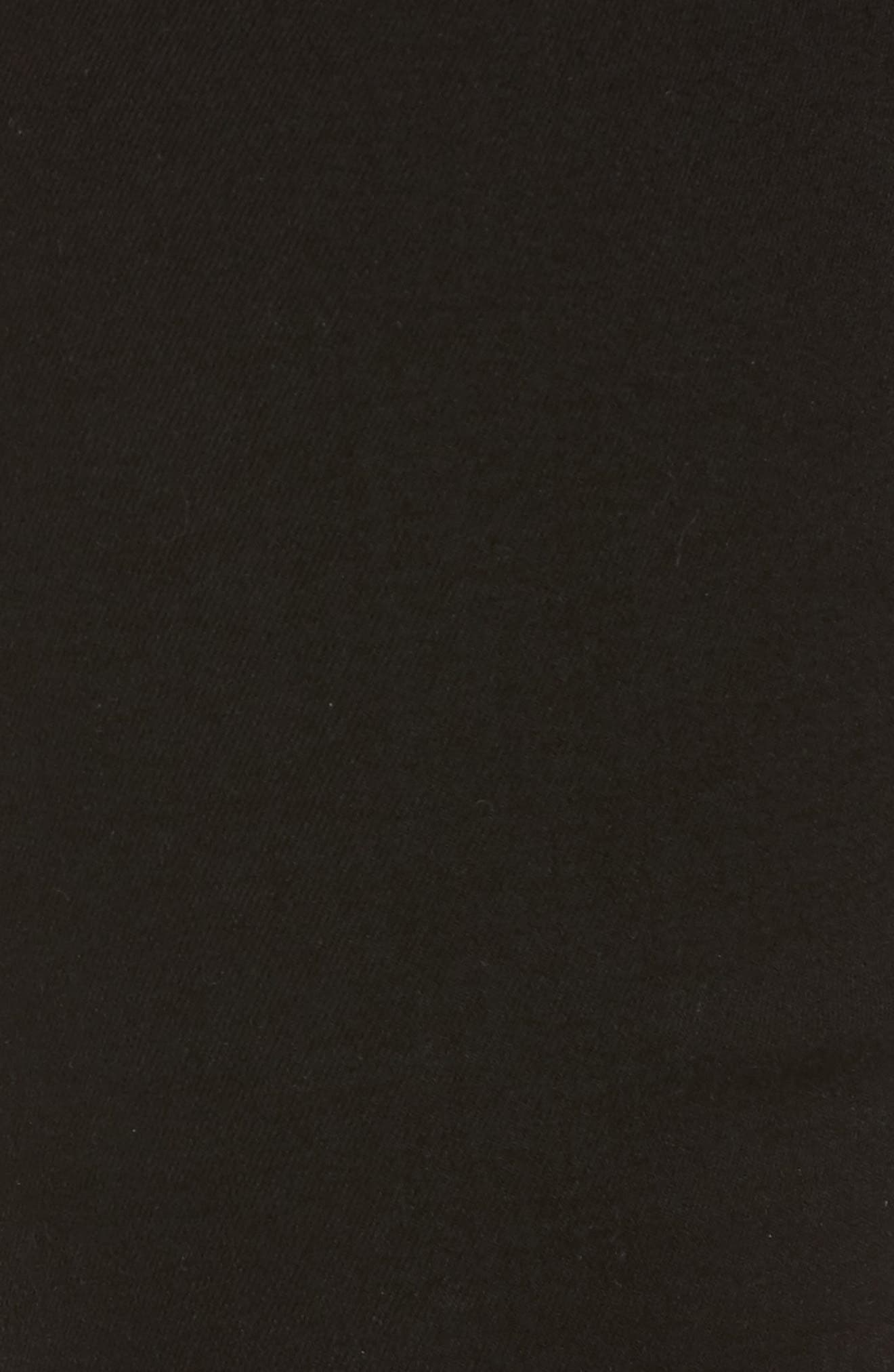 Alternate Image 5  - 7 For All Mankind® b(air) Crop Bootcut Jeans (b(air) Black)