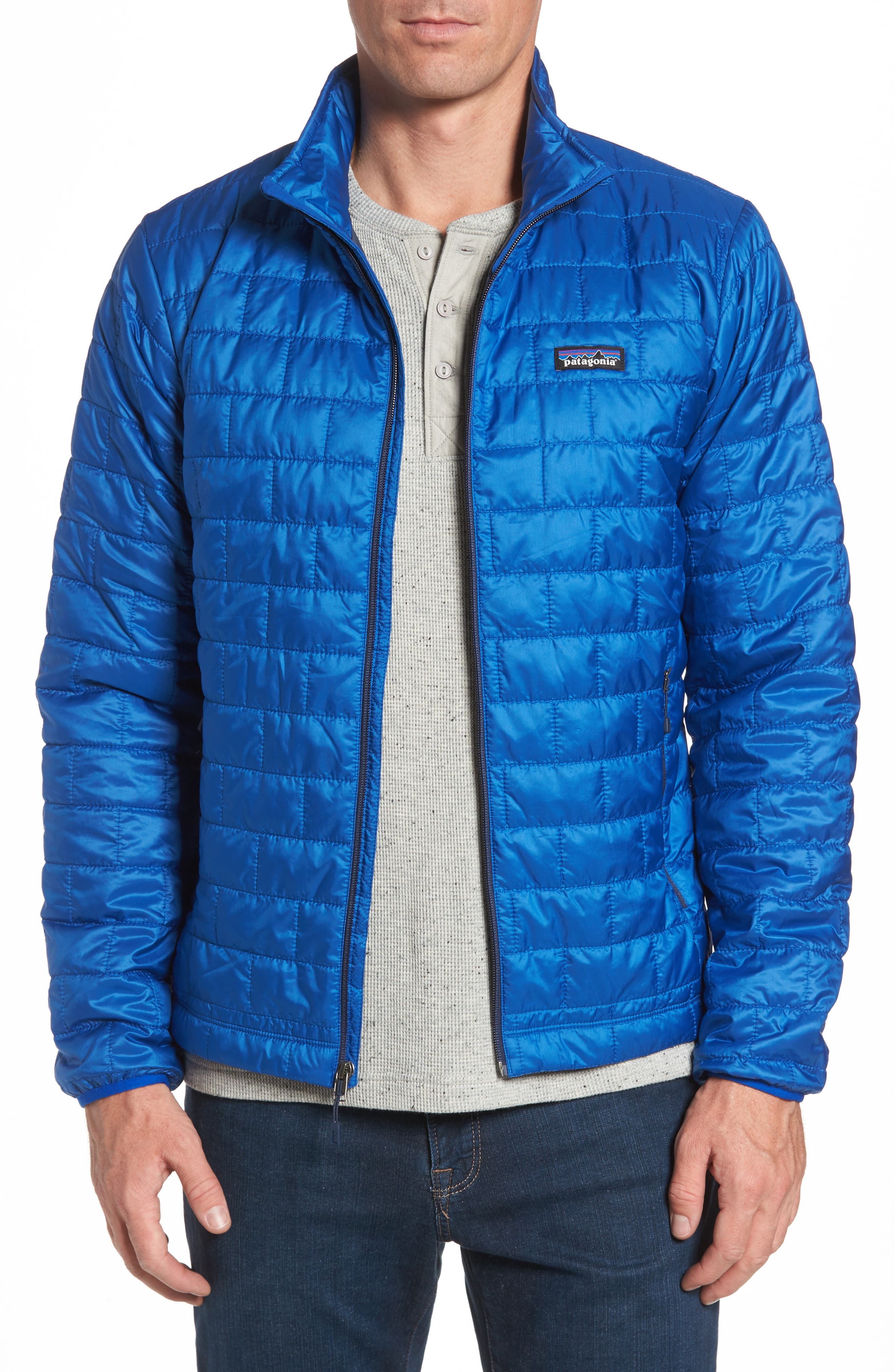 'Nano Puff<sup>®</sup>' Water Resistant Jacket,                             Main thumbnail 1, color,                             Viking Blue