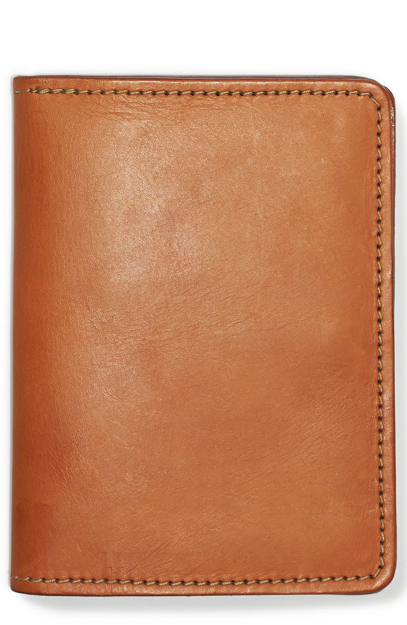 Main Image - Filson Leather Passport Case