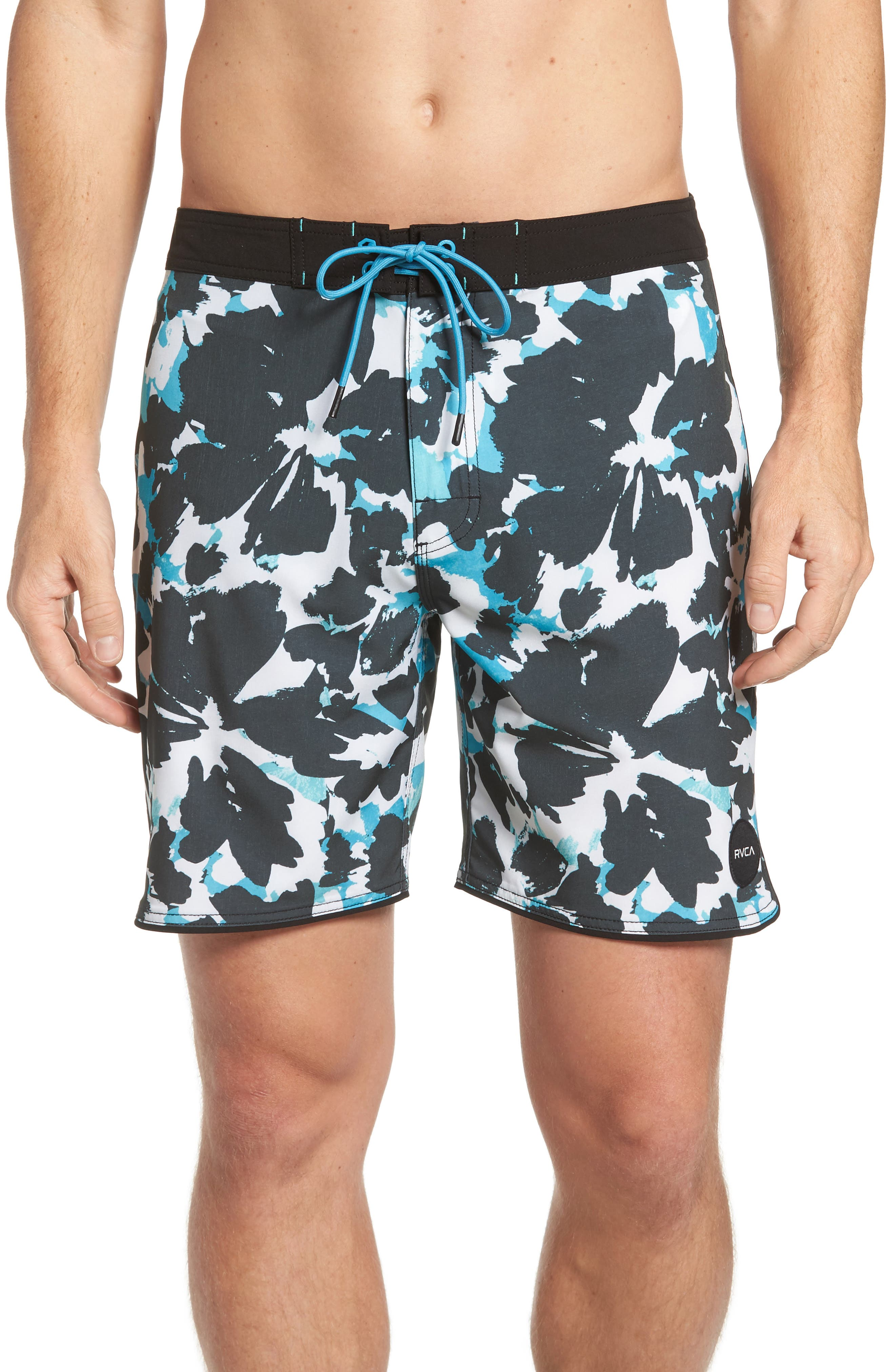 RVCA 'South Eastern' Print Board Shorts