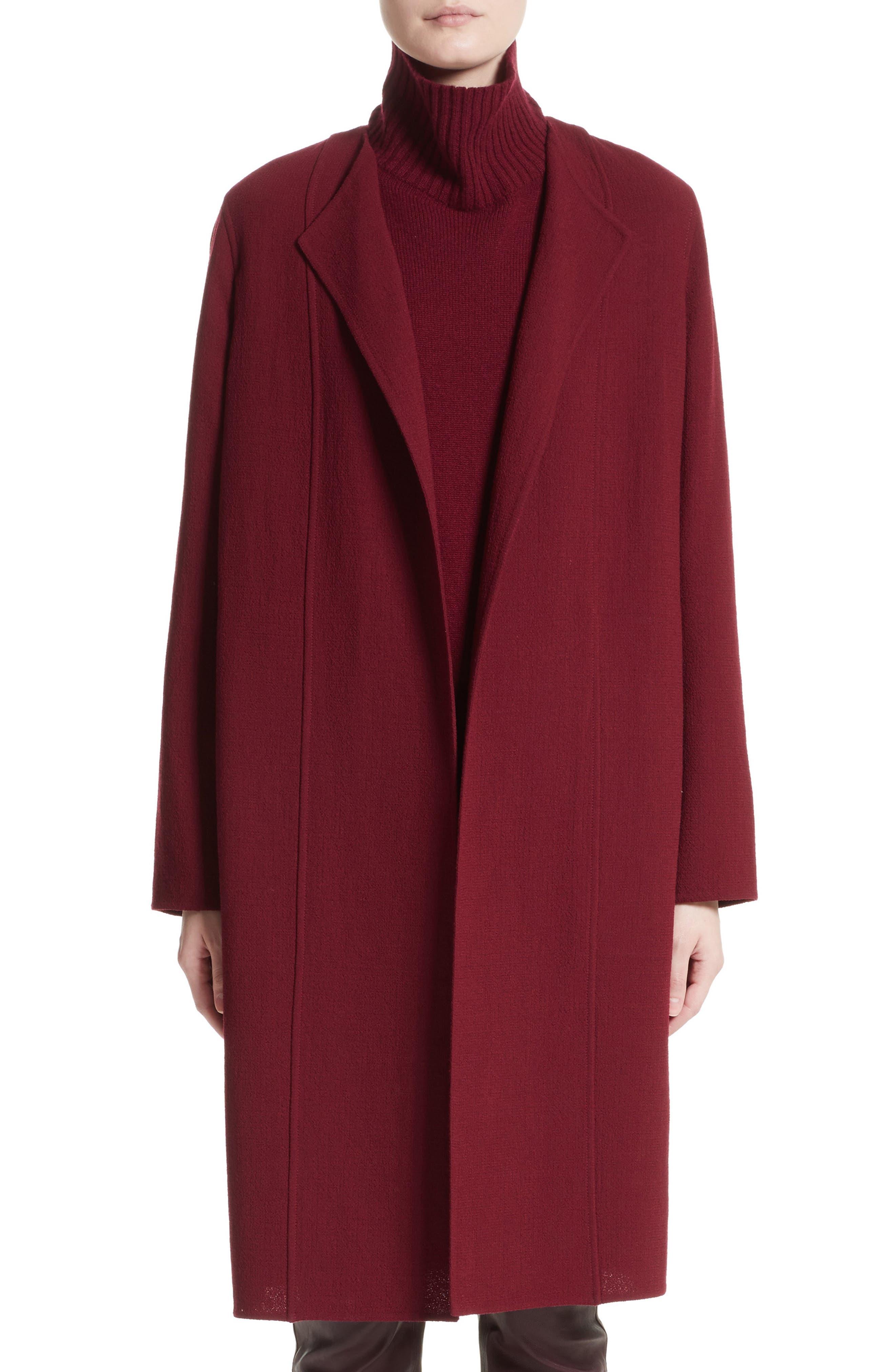 Lafayette 148 New York Robyn Nouveau Crepe Coat