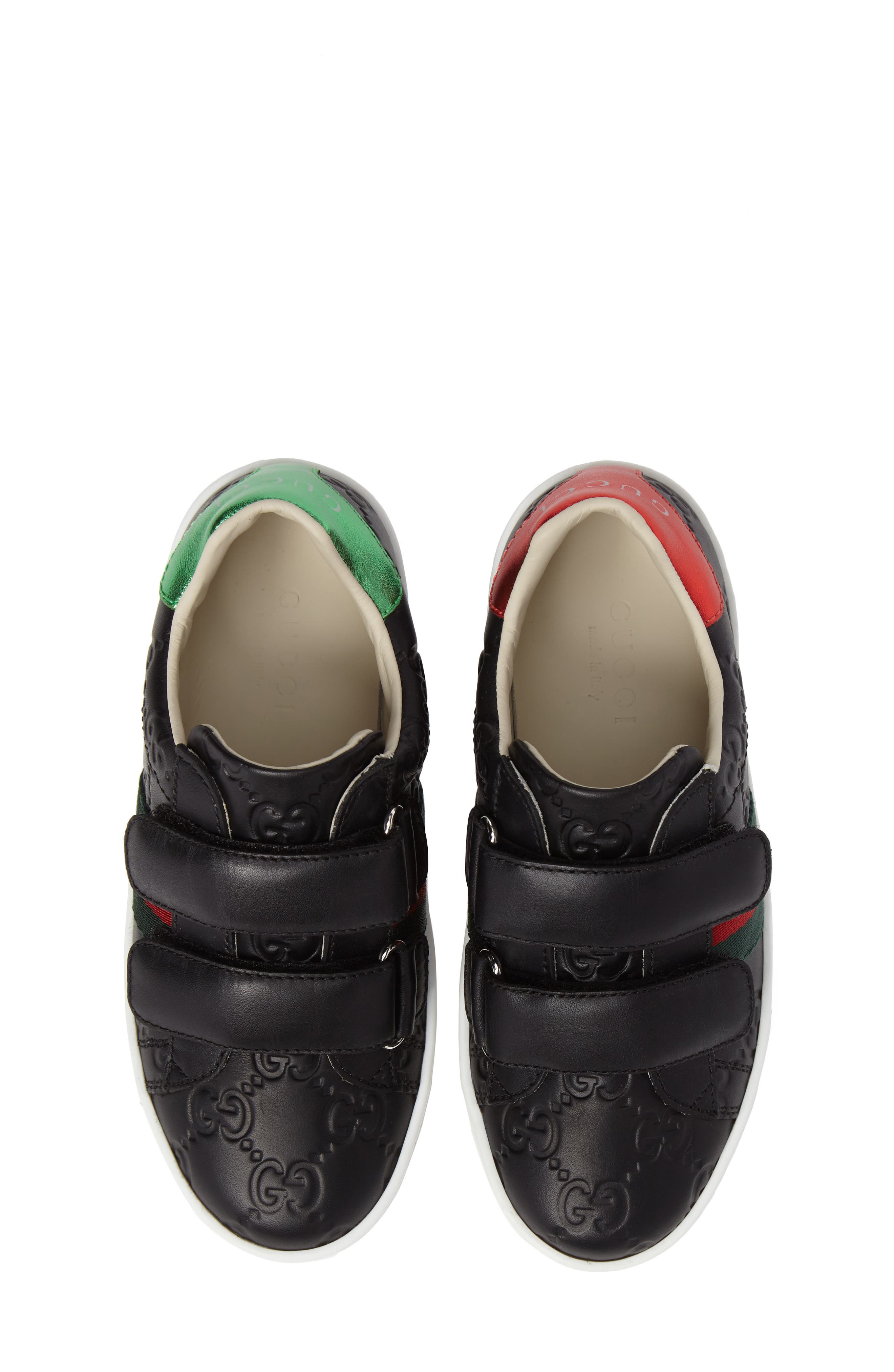 Alternate Image 1 Selected - Gucci New Ace Sneaker (Toddler & Little Kid)