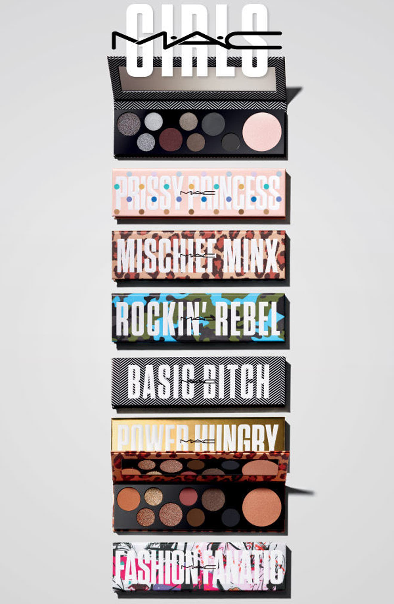 Alternate Image 6  - MAC Girls Power Hungry Palette ($160 Value)