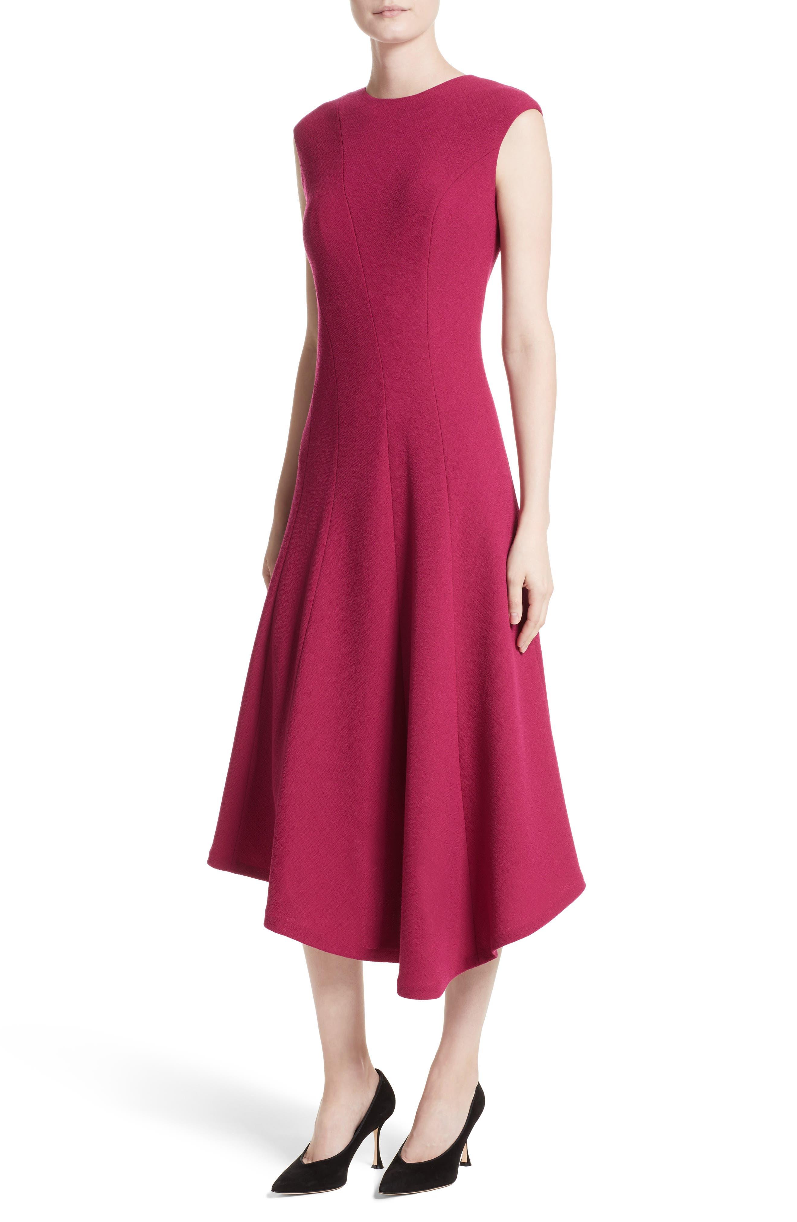 Alternate Image 4  - Lafayette 148 New York Aveena Wool Interlock Dress