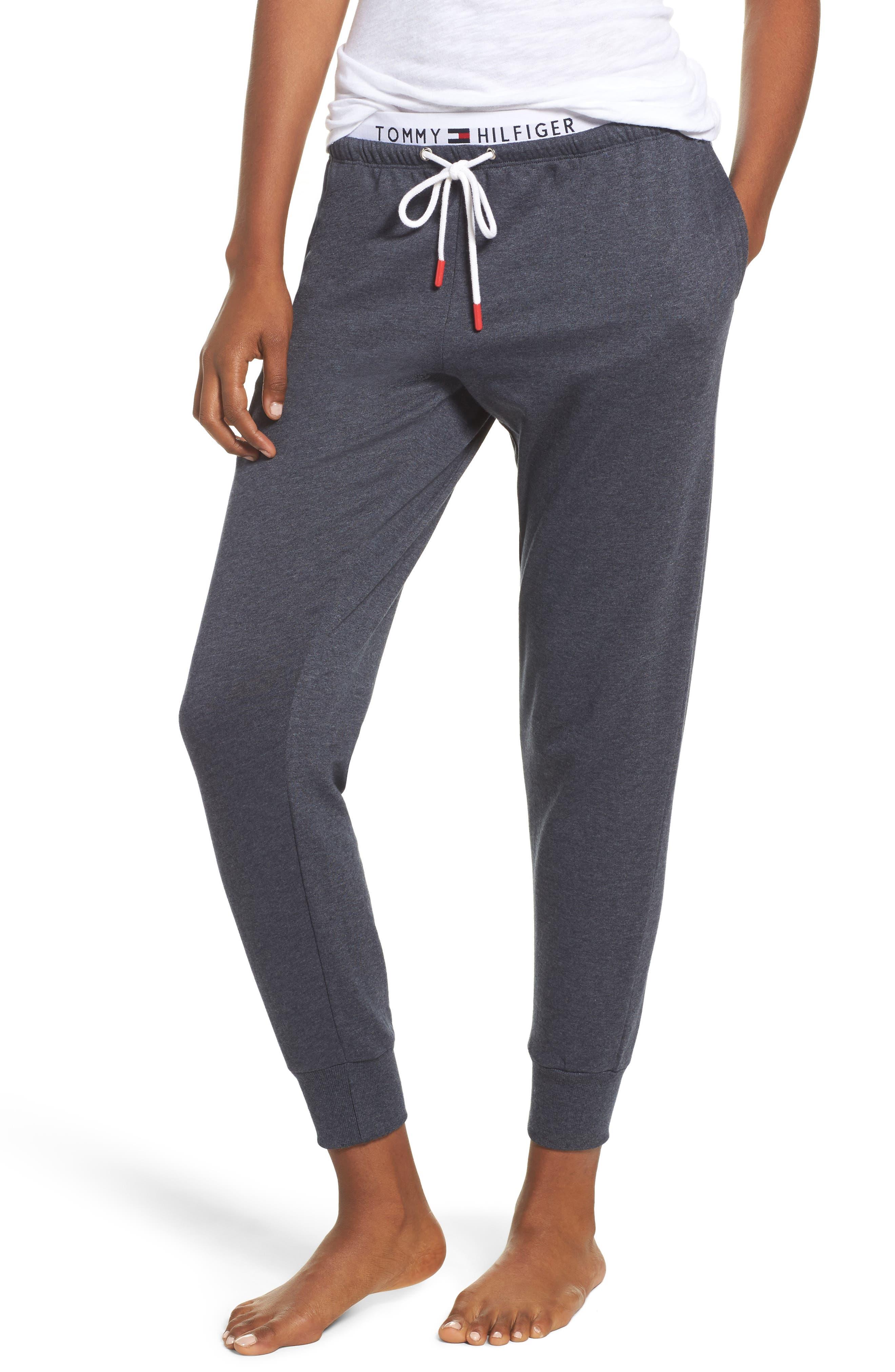Retro Jogger Pants,                         Main,                         color, Peacoat