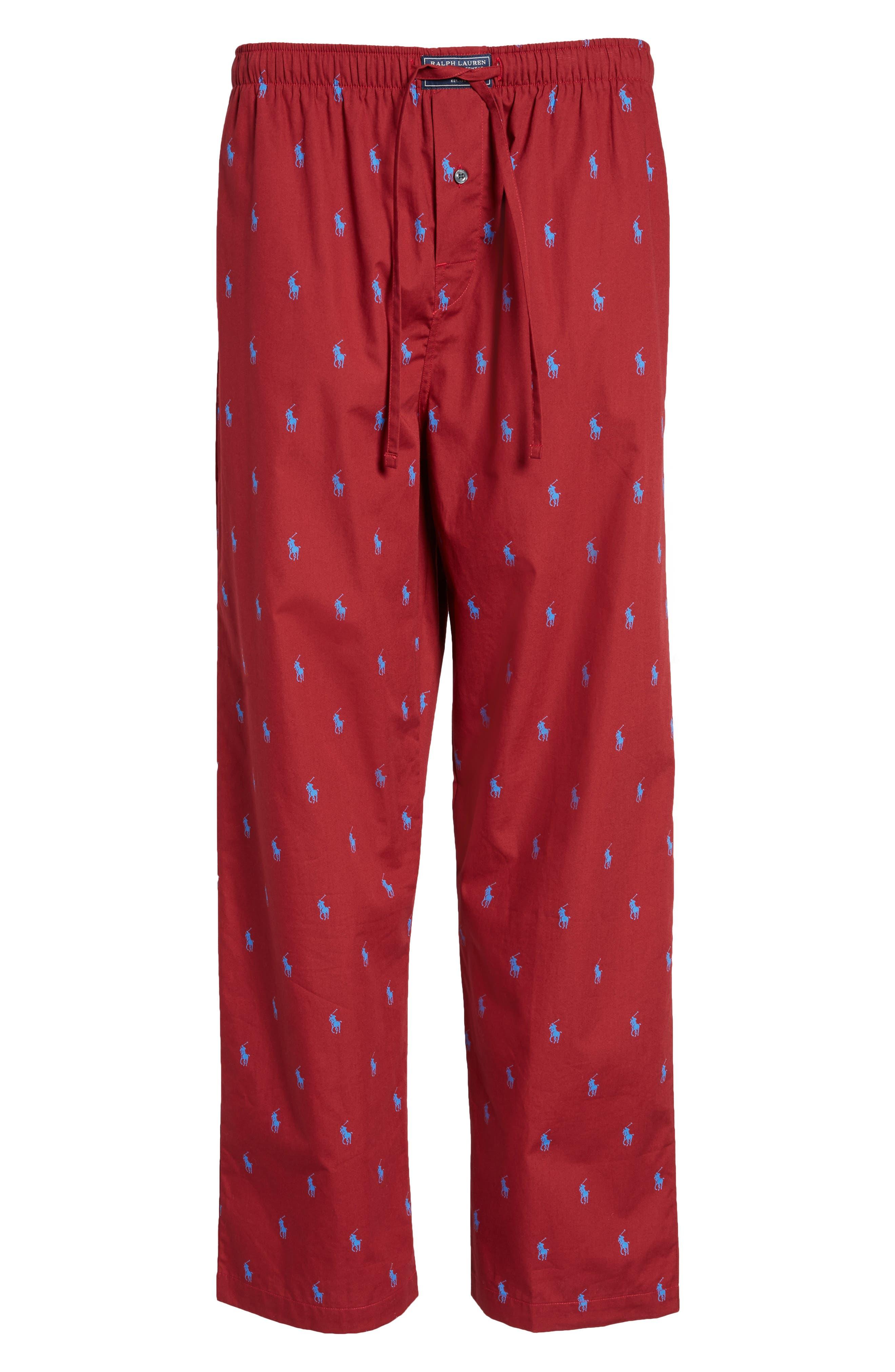 Alternate Image 6  - Polo Ralph Lauren Classic Lounge Pants