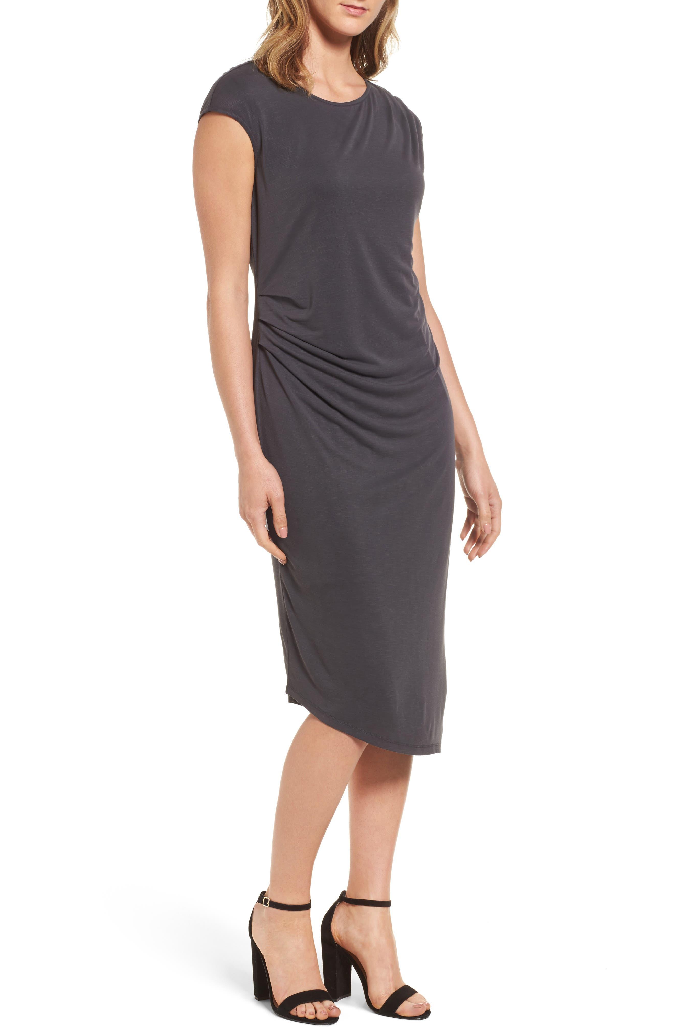 Cloud Nine Dress,                         Main,                         color, Washed Black