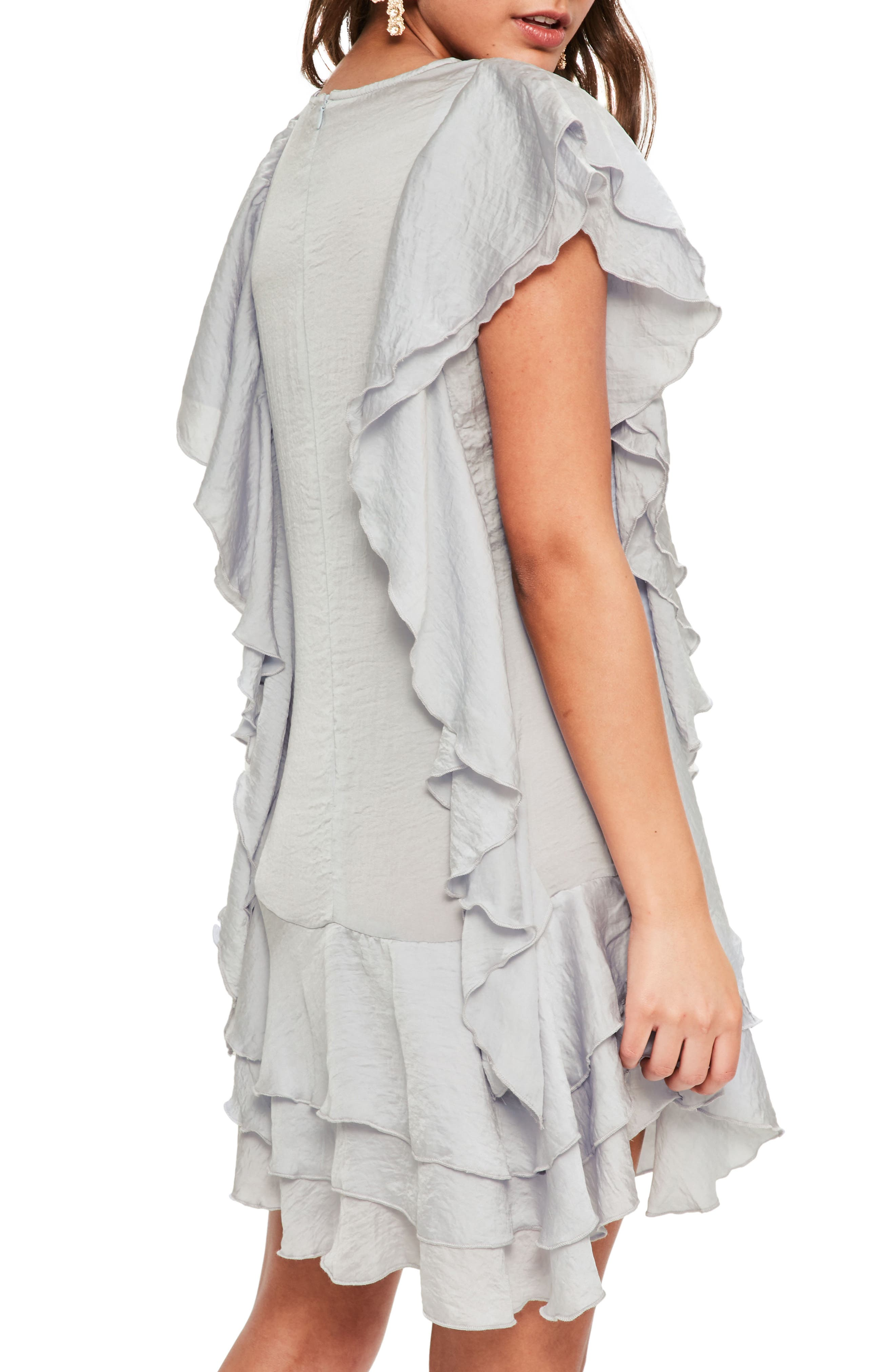 Alternate Image 2  - Missguided Layered Ruffle Minidress