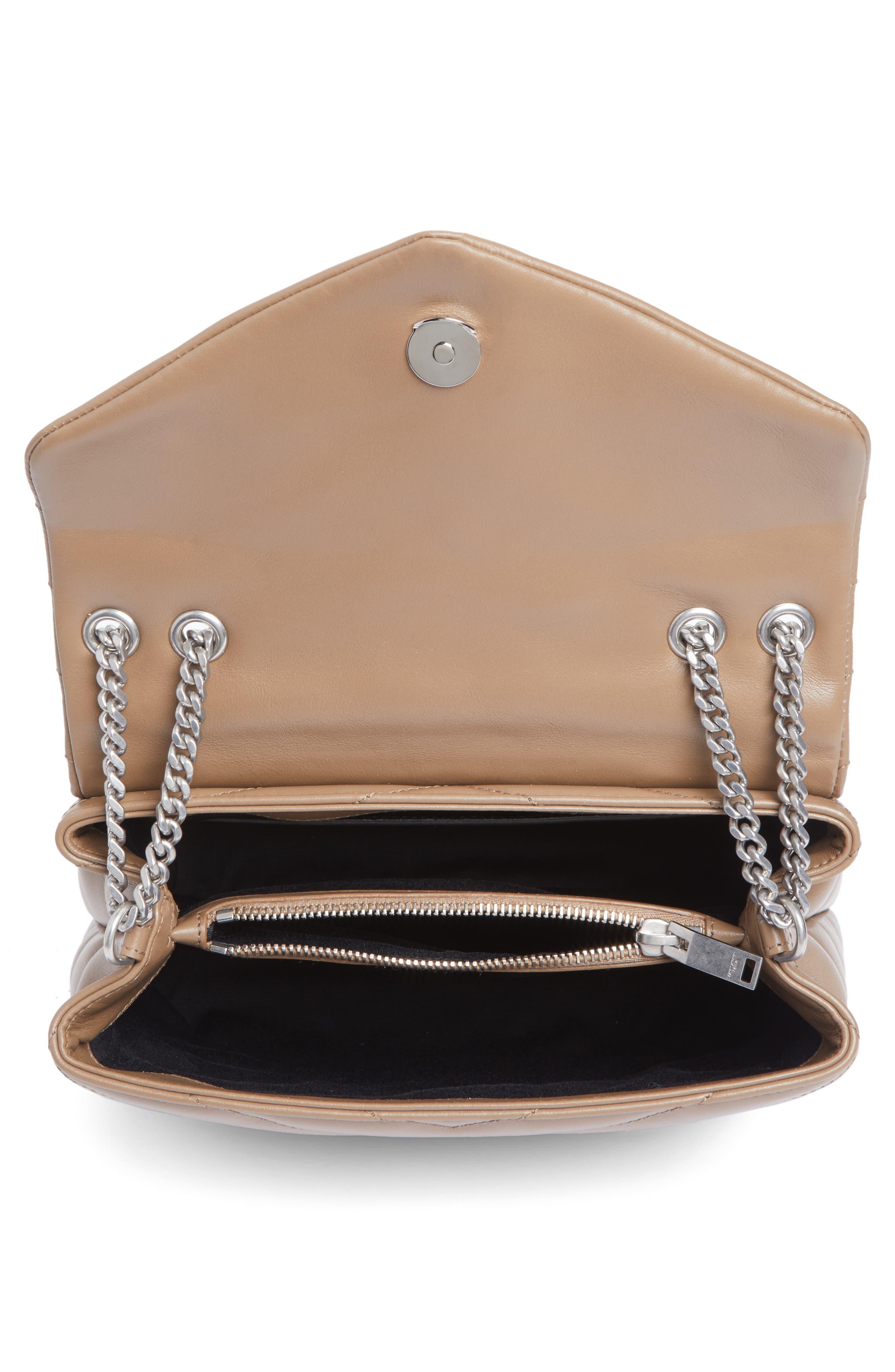 Alternate Image 4  - Saint Laurent Small Loulou Matelassé Leather Shoulder Bag