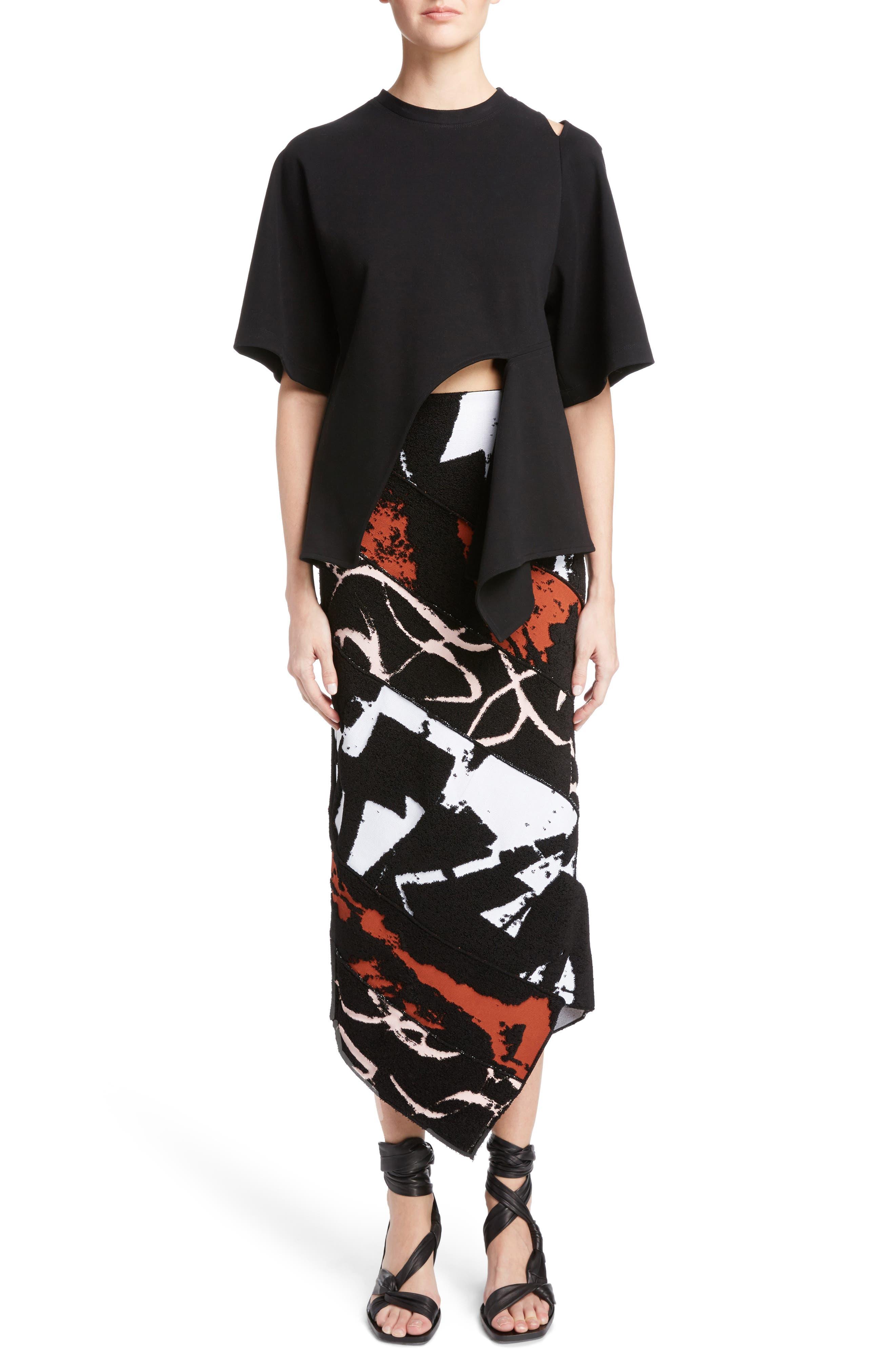 Alternate Image 6  - Proenza Schouler Asymmetrical Jersey Top