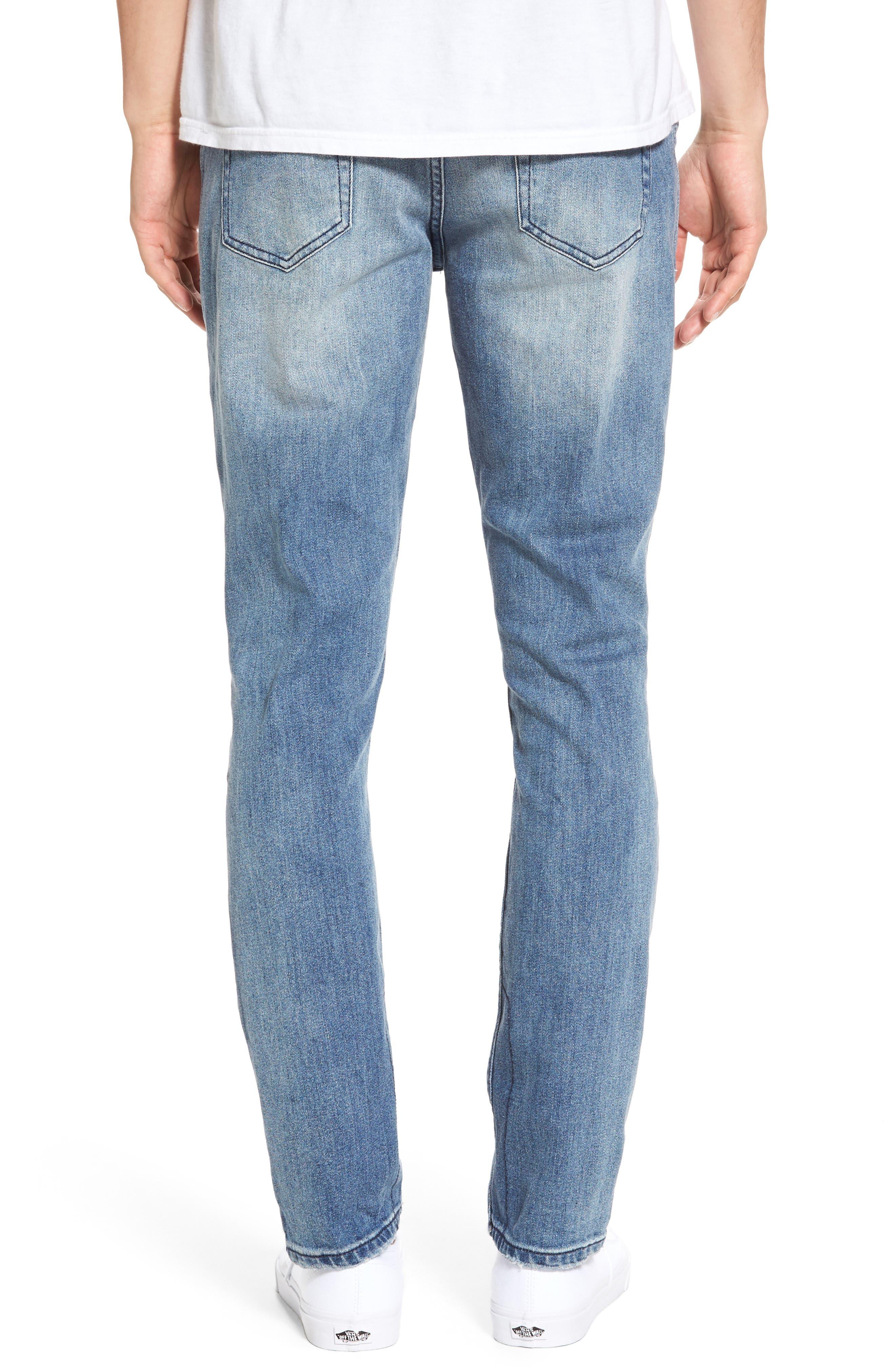 B.Line Slim Fit Jeans,                             Alternate thumbnail 2, color,                             Blow Out Stonewash