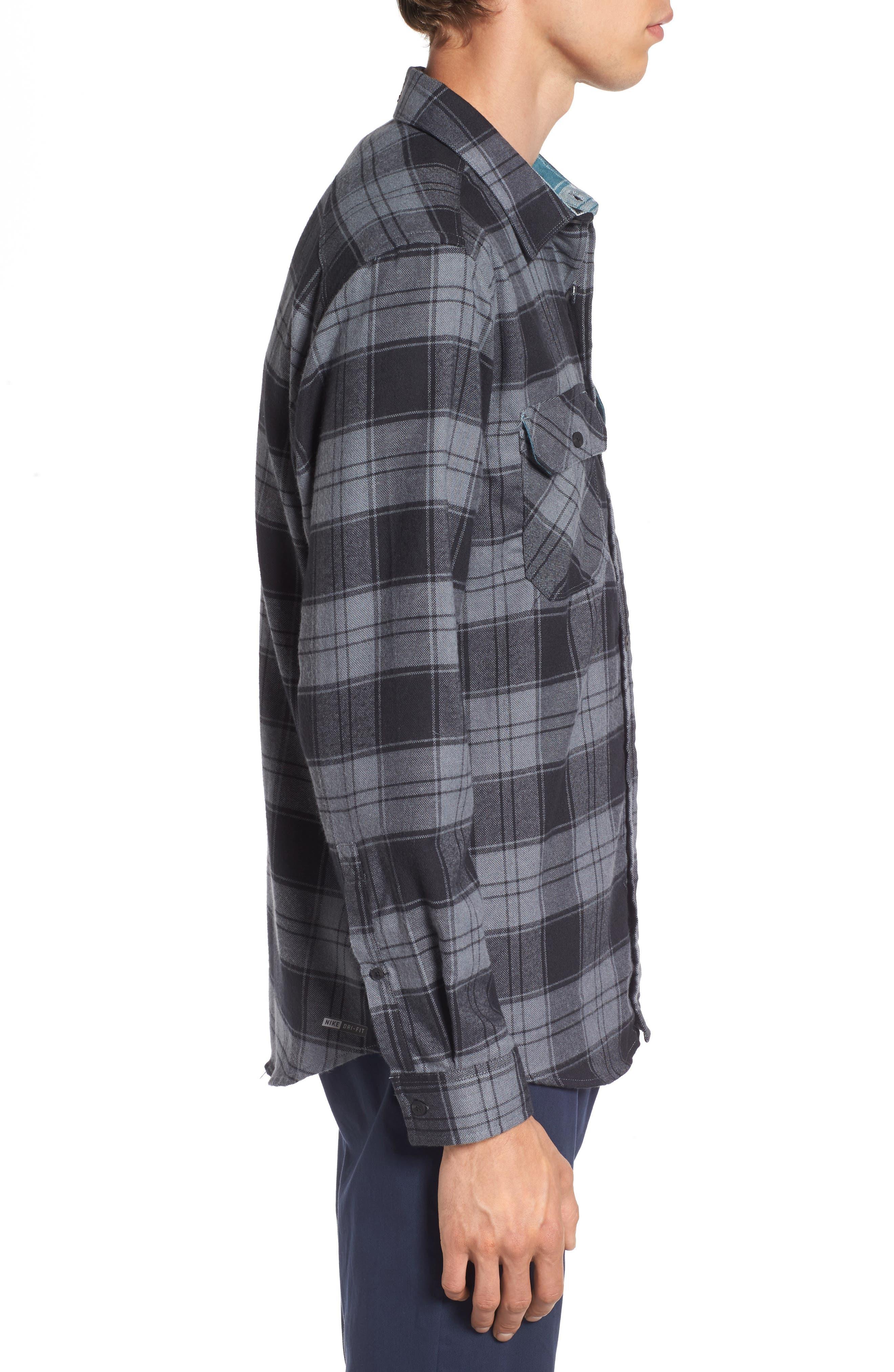 Alternate Image 3  - Hurley Check Dri-FIT Shirt