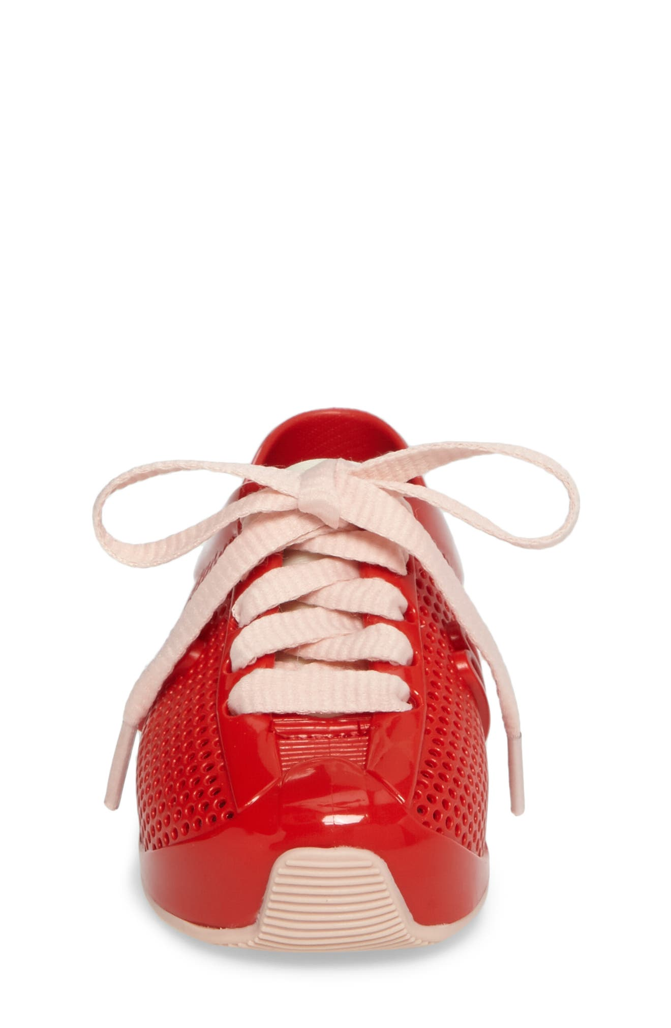 'Love System' Sneaker,                             Alternate thumbnail 4, color,                             Red