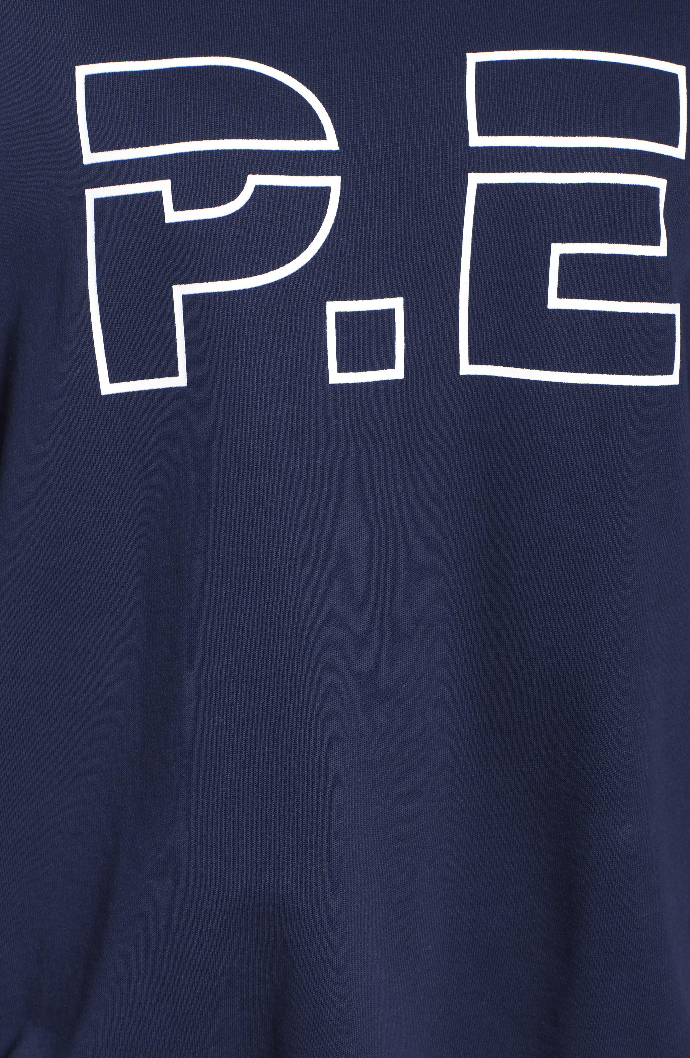 P.E. Nation The Heads Up Sweatshirt,                             Alternate thumbnail 5, color,                             Navy