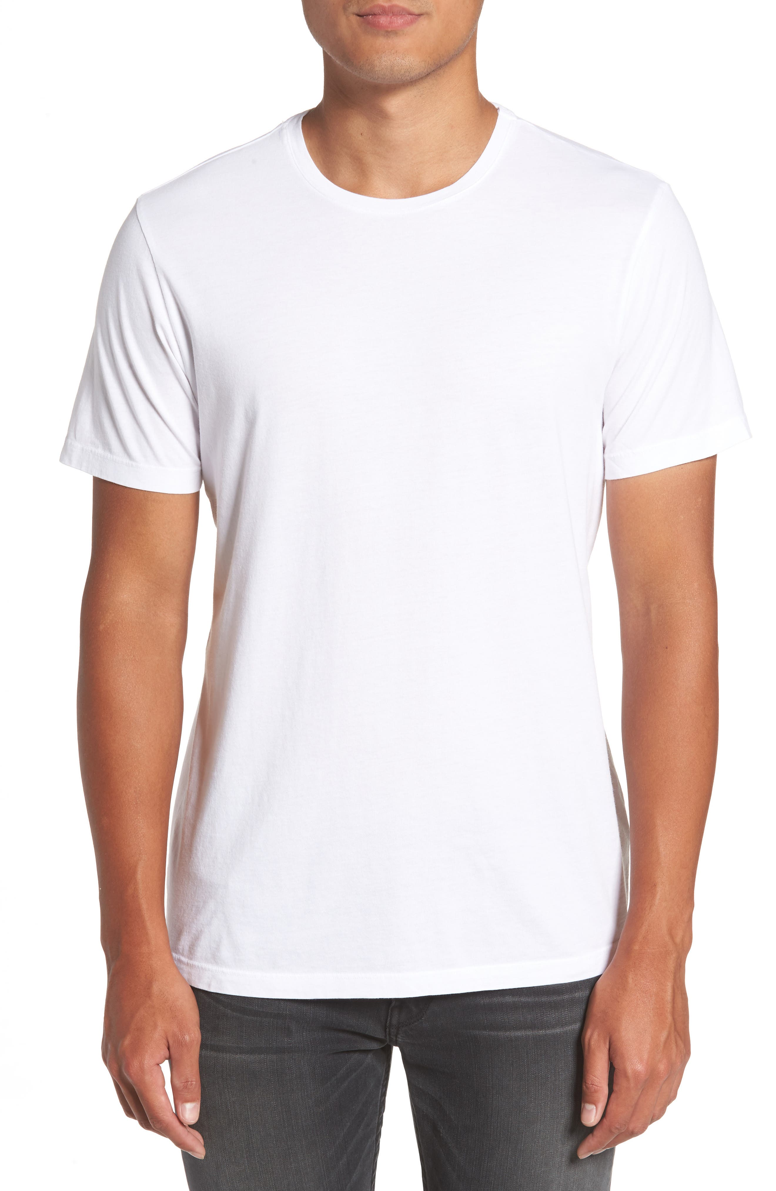 Alternate Image 1 Selected - PAIGE Cash Crewneck T-Shirt