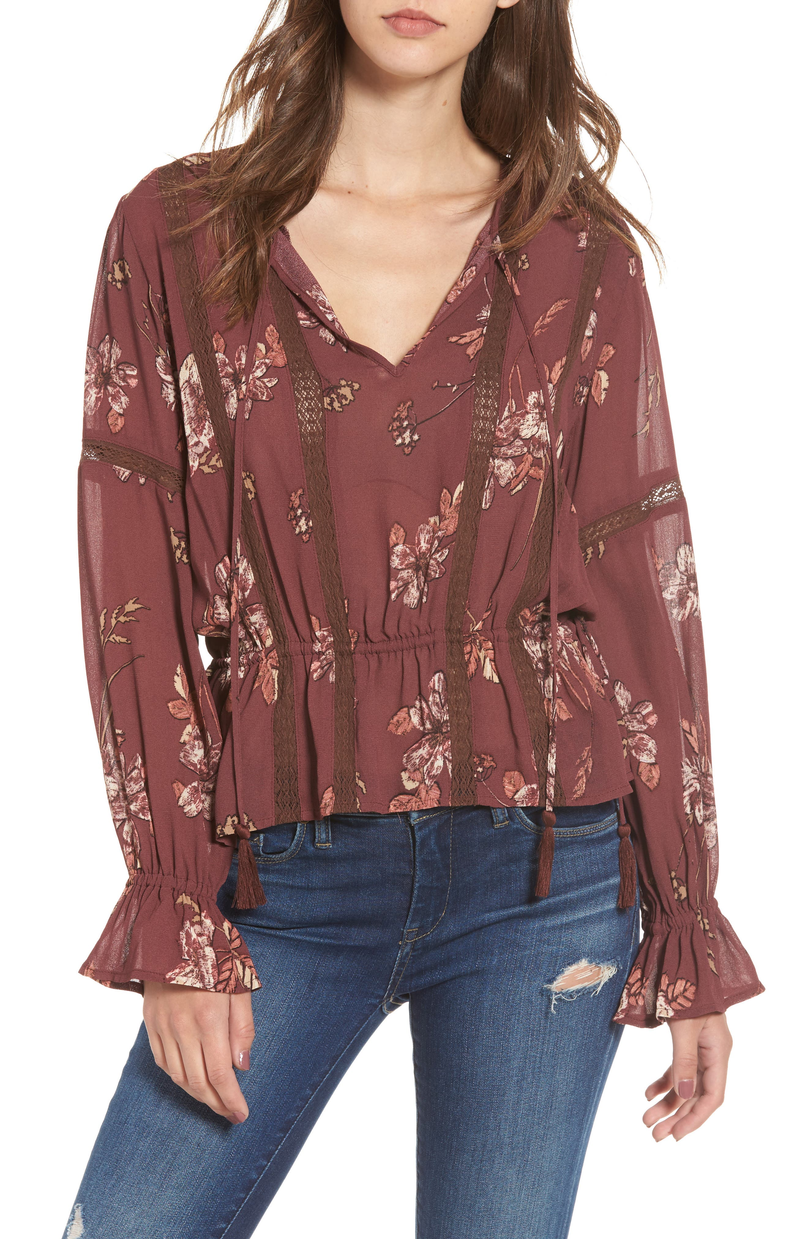 ASTR the Label Rosalie Top