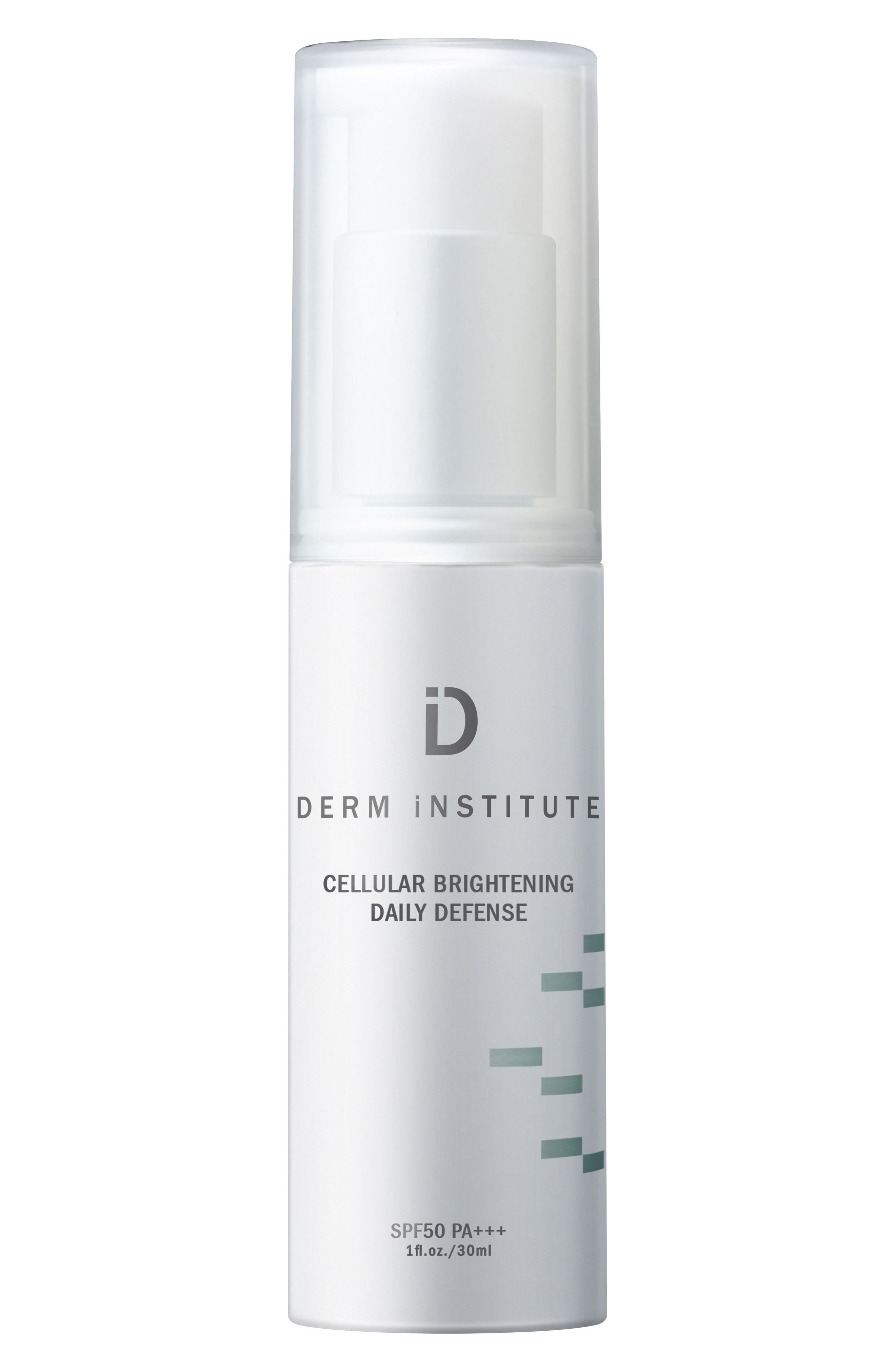 SPACE.NK.apothecary Derm Institute Cellular Brightening Daily Defense SPF 50,                         Main,                         color, No Color