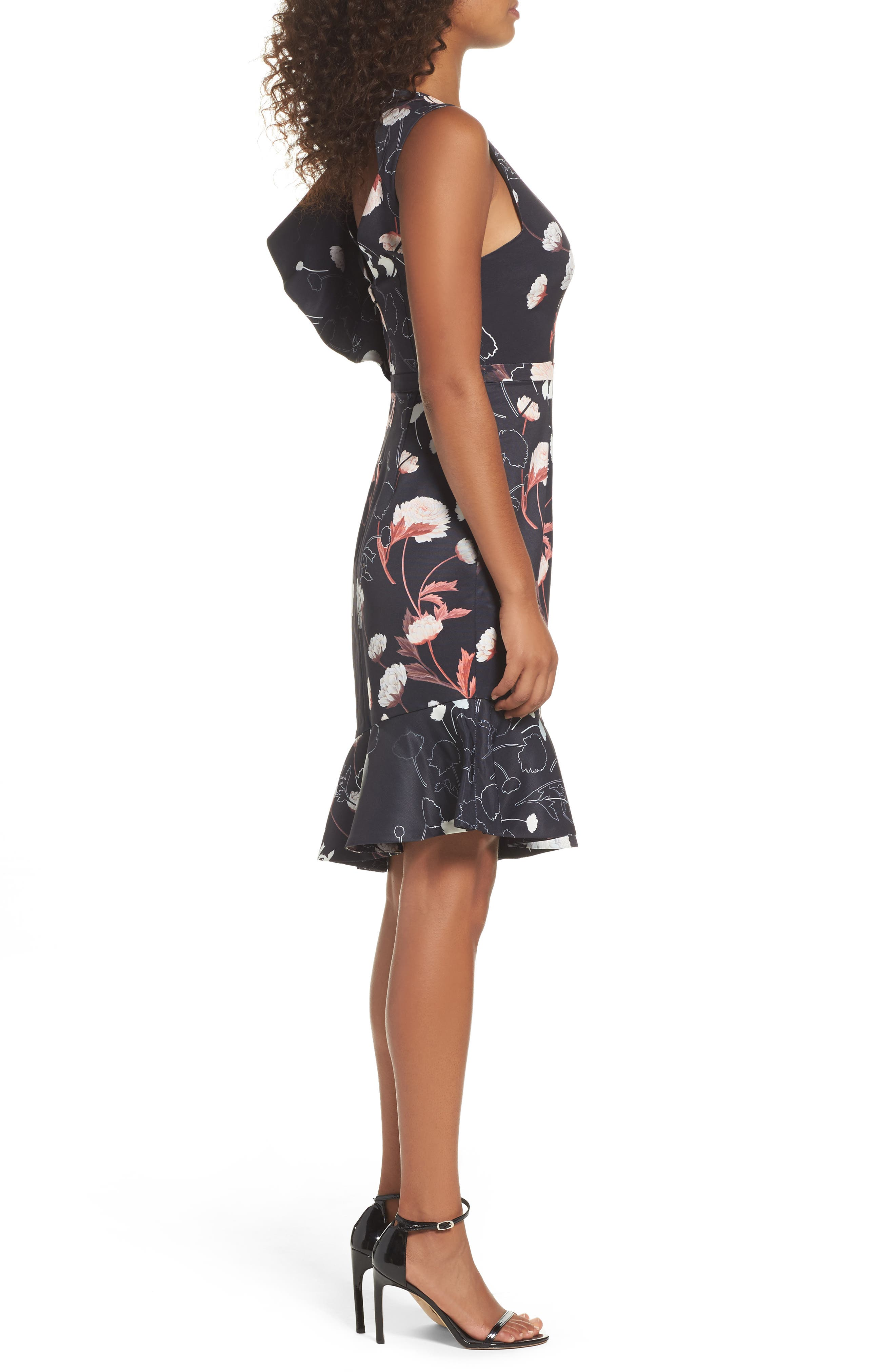 Alternate Image 3  - Cooper St Amaya Ruffle Sheath Dress