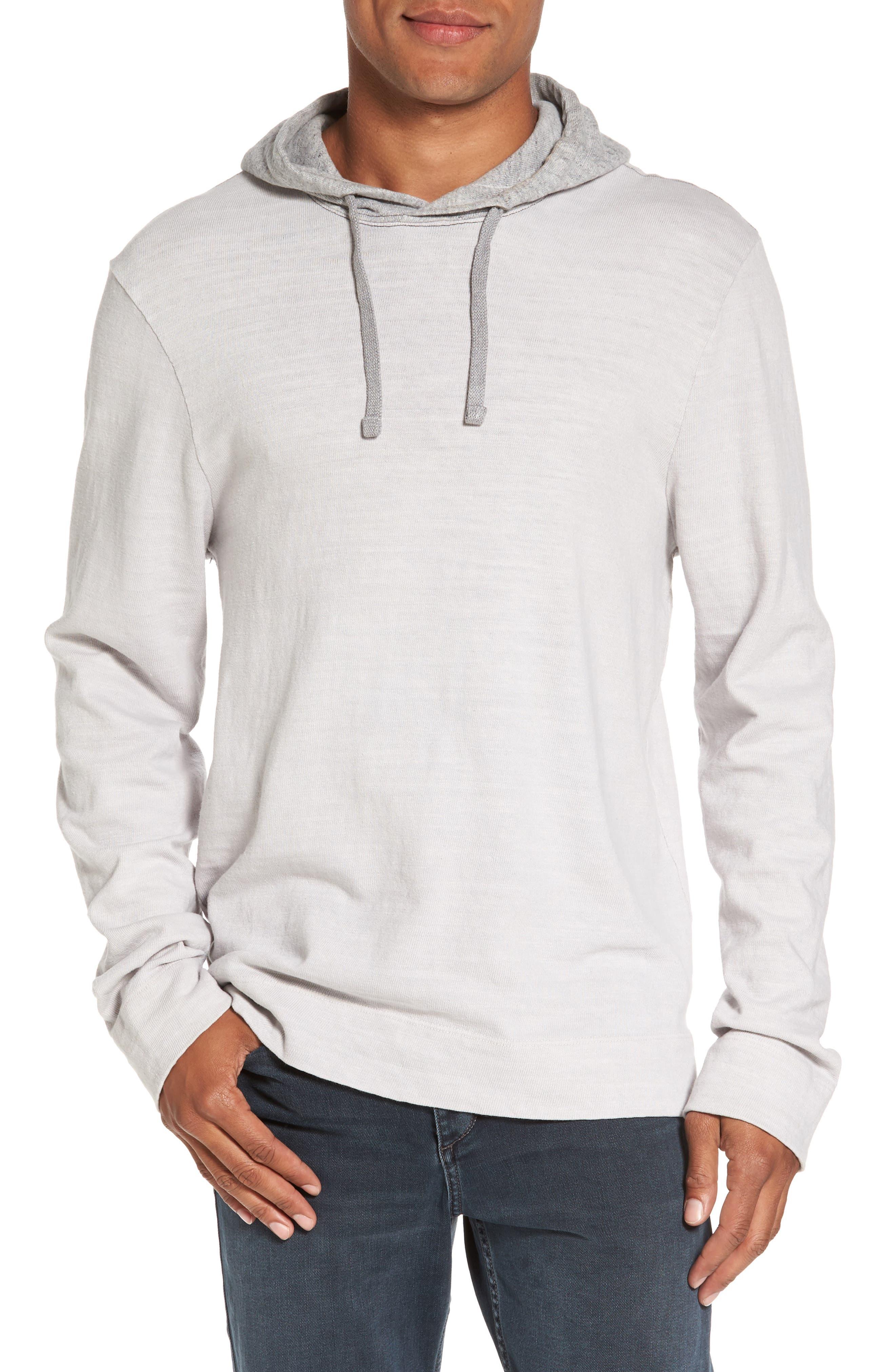 Standard Fit Pullover Hoodie,                         Main,                         color, Concrete Dust Pigment
