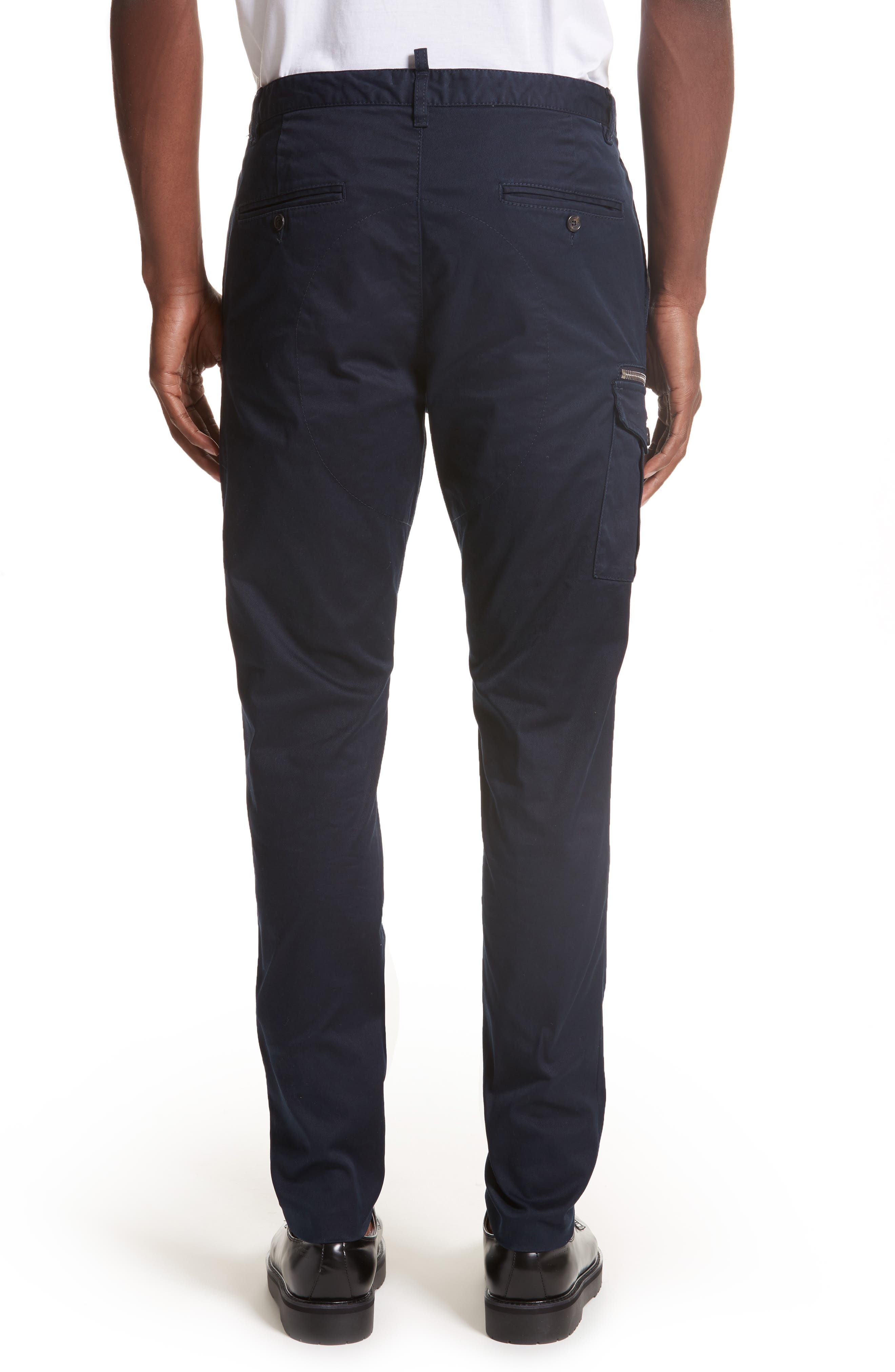 Cargo Pants,                             Alternate thumbnail 2, color,                             Navy