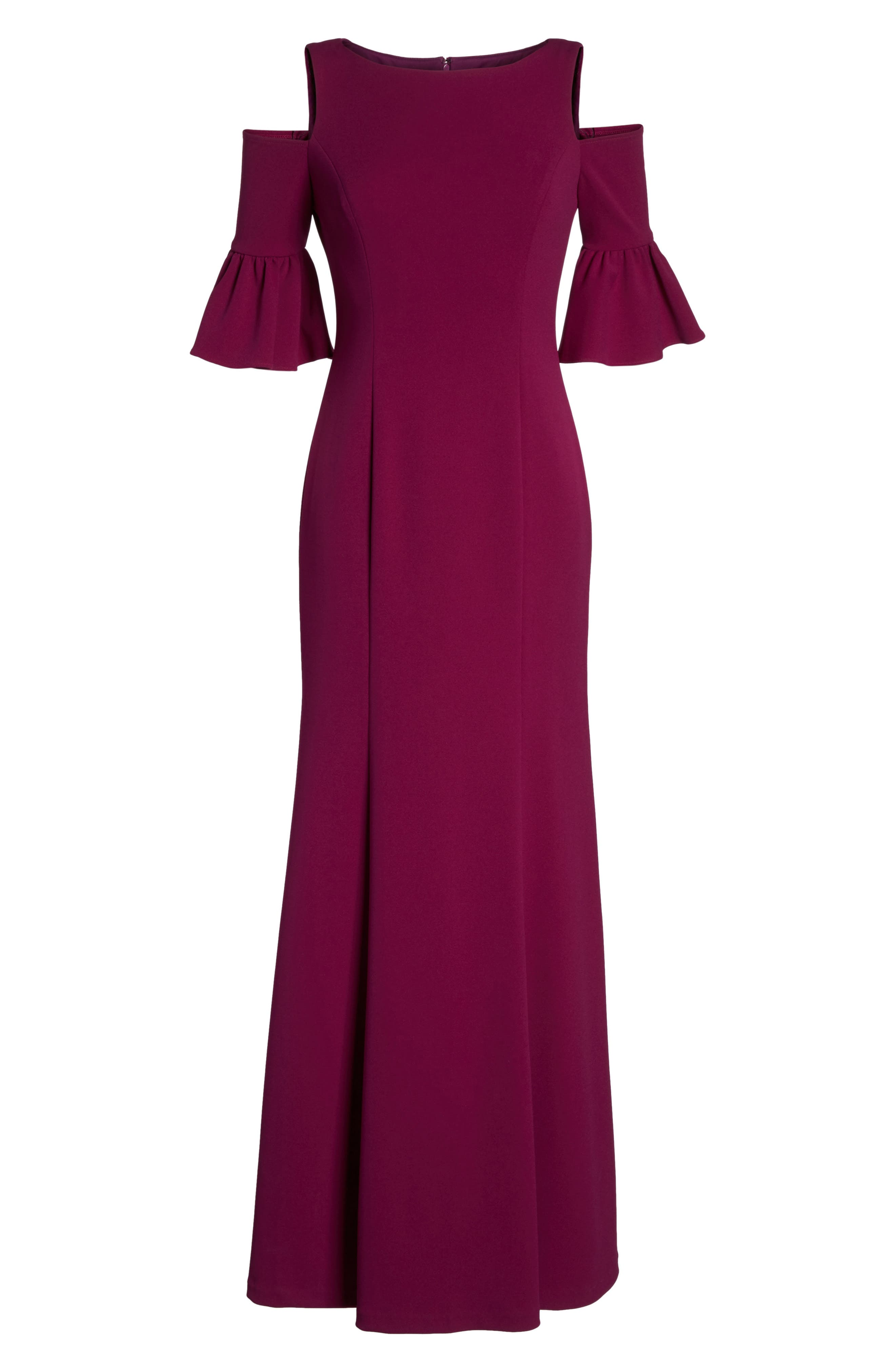 Alternate Image 6  - Adrianna Papell Cold Shoulder Gown