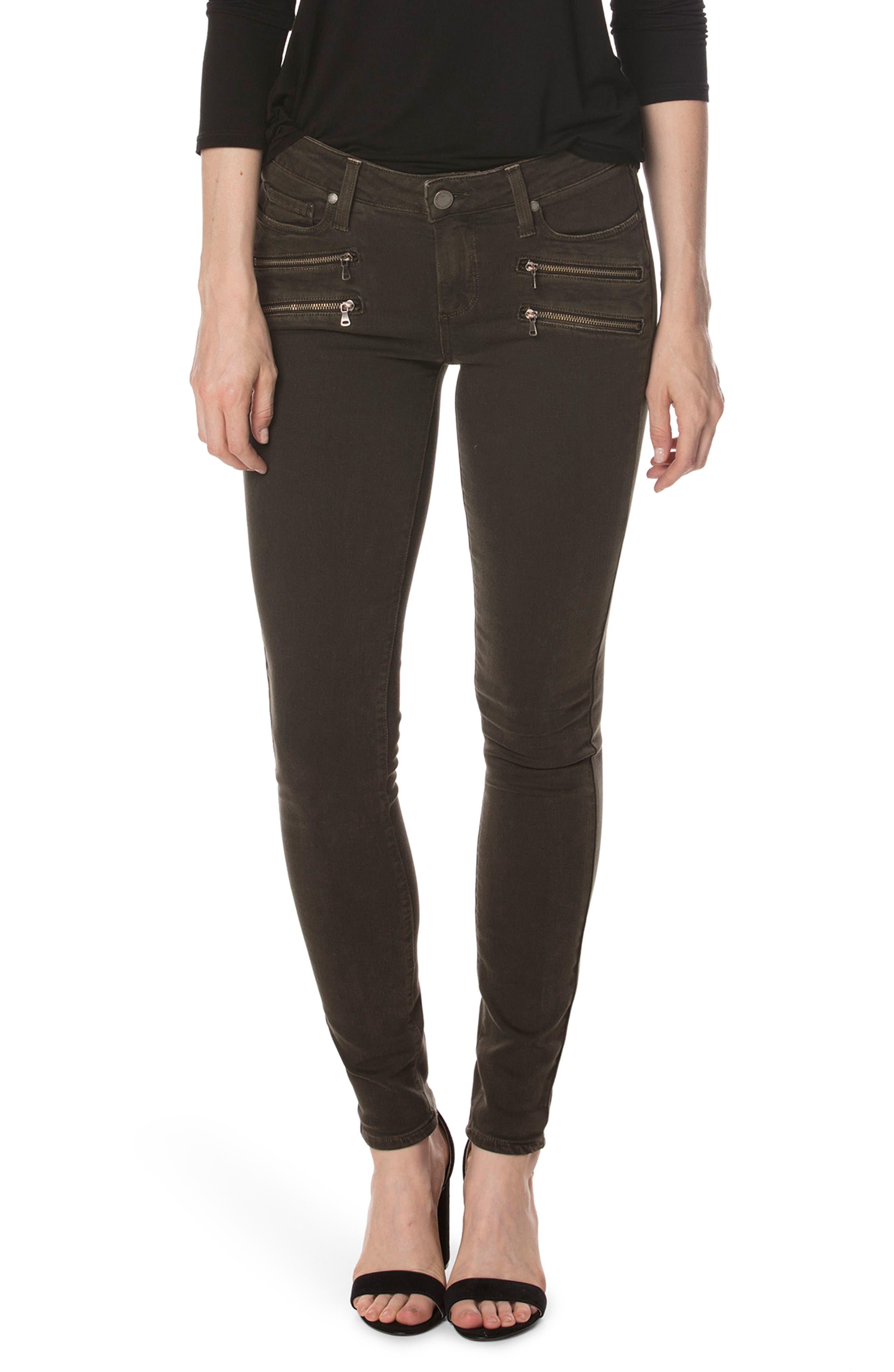 Alternate Image 3  - PAIGE Transcend - Edgemont Ankle Ultra Skinny Jeans