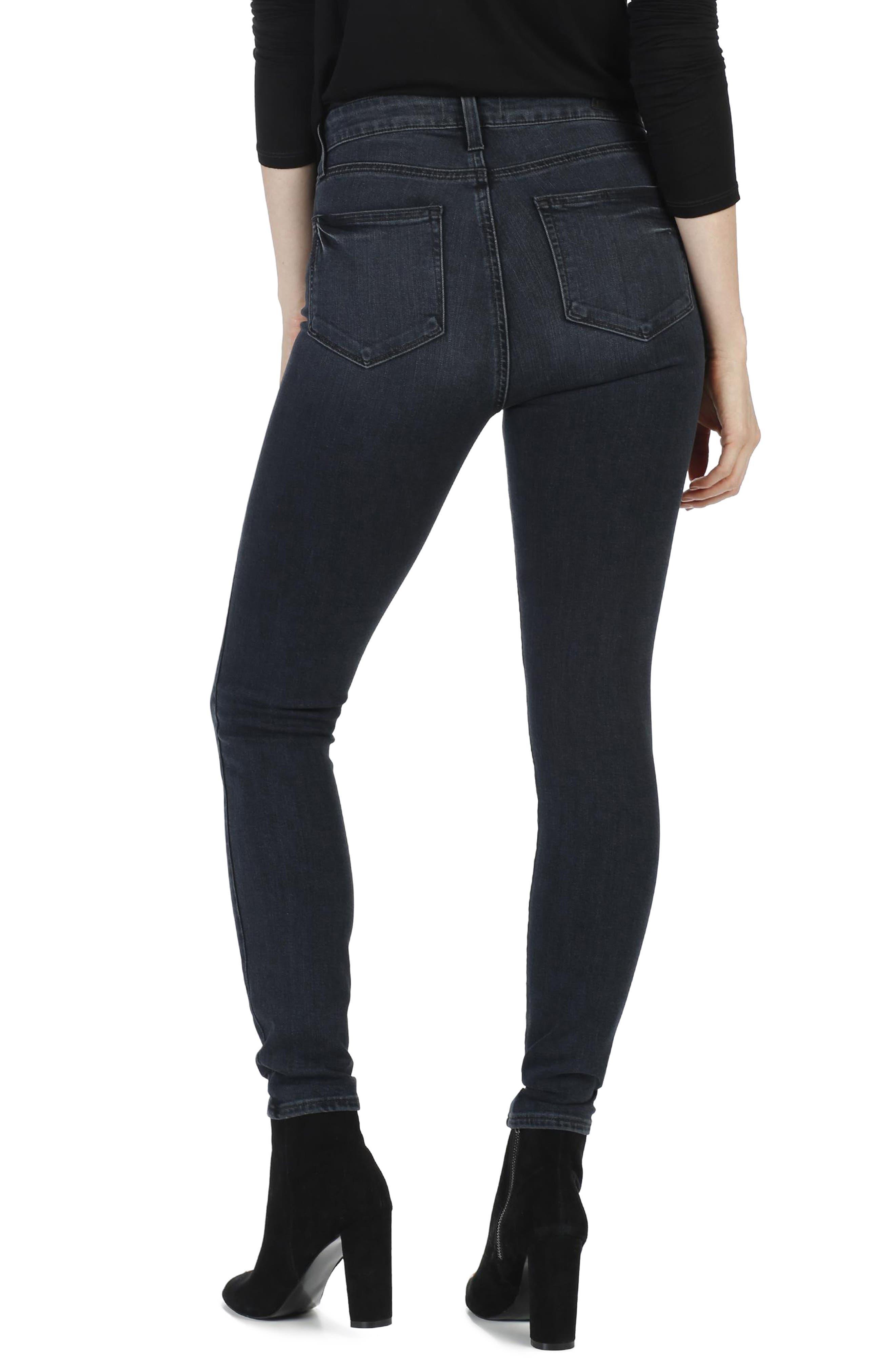 Transcend - Margot Ultra Skinny Jeans,                             Alternate thumbnail 2, color,                             Rowena