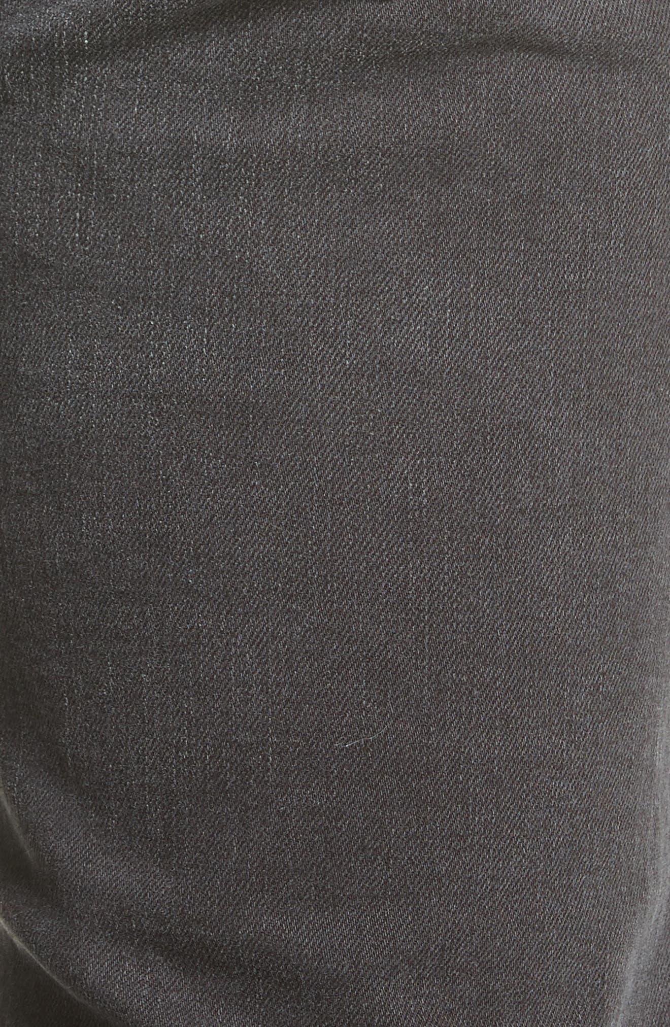Alternate Image 5  - ACNE Studios North Skinny Fit Jeans (Used Black)