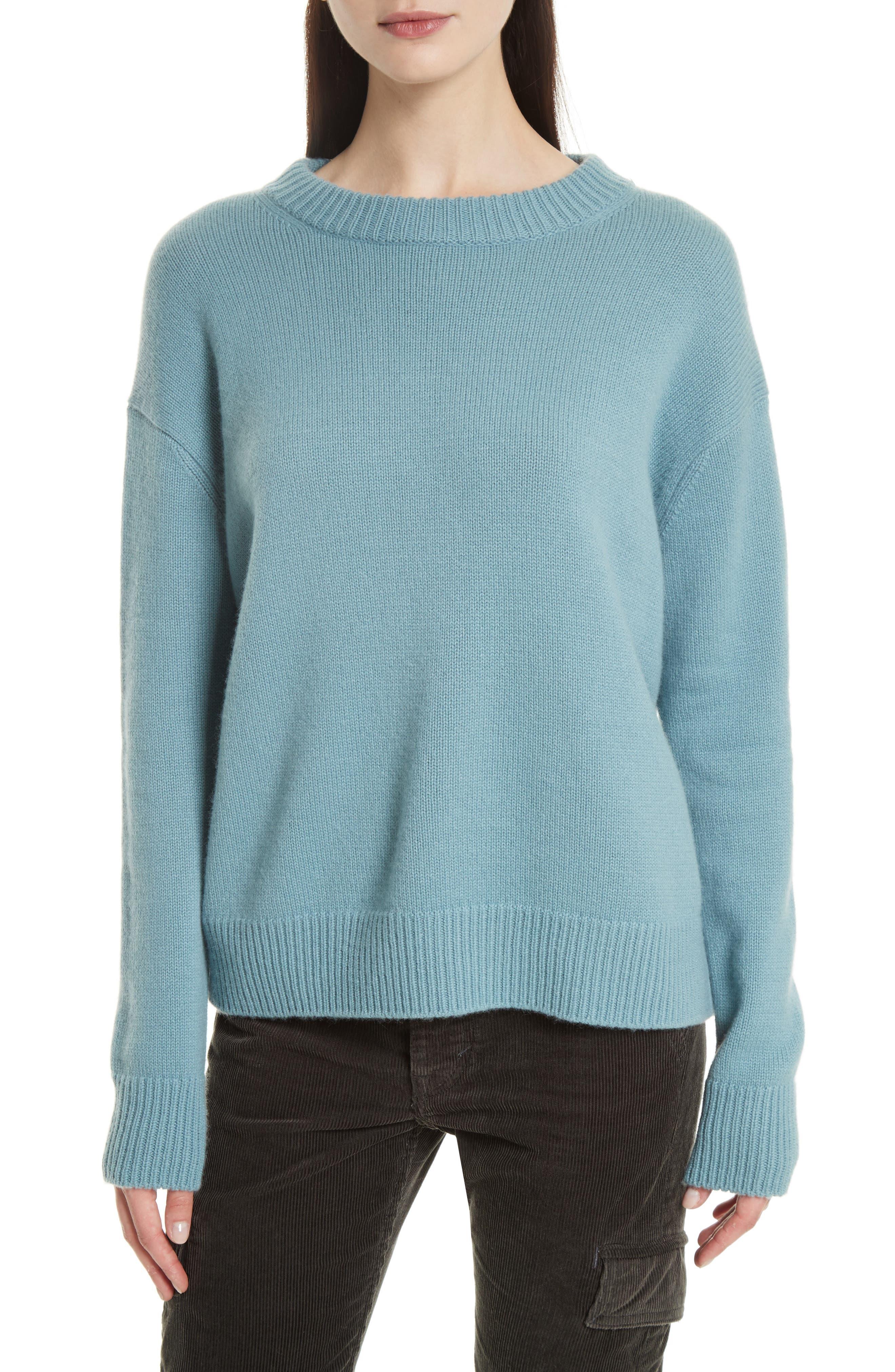 Vince Cashmere Crewneck Sweater
