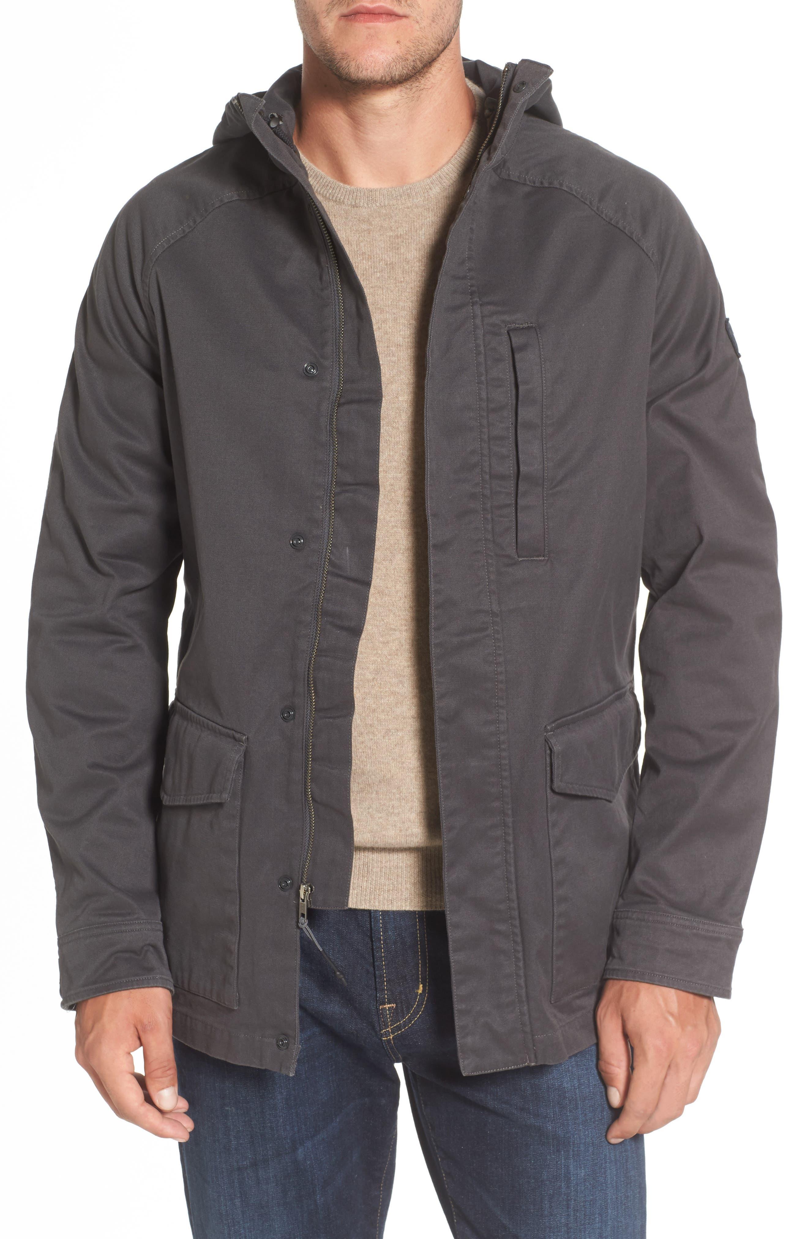Utility Jacket,                         Main,                         color, Grey