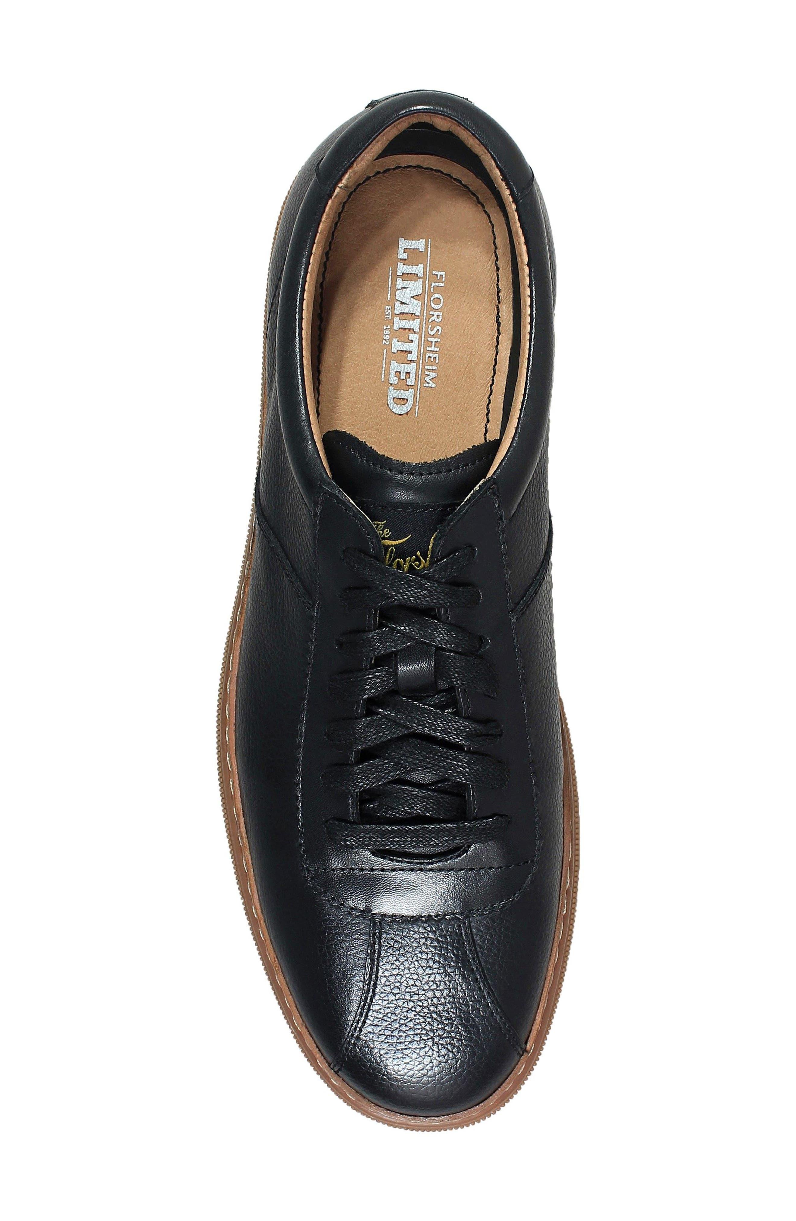Crew Sneaker,                             Alternate thumbnail 5, color,                             Black
