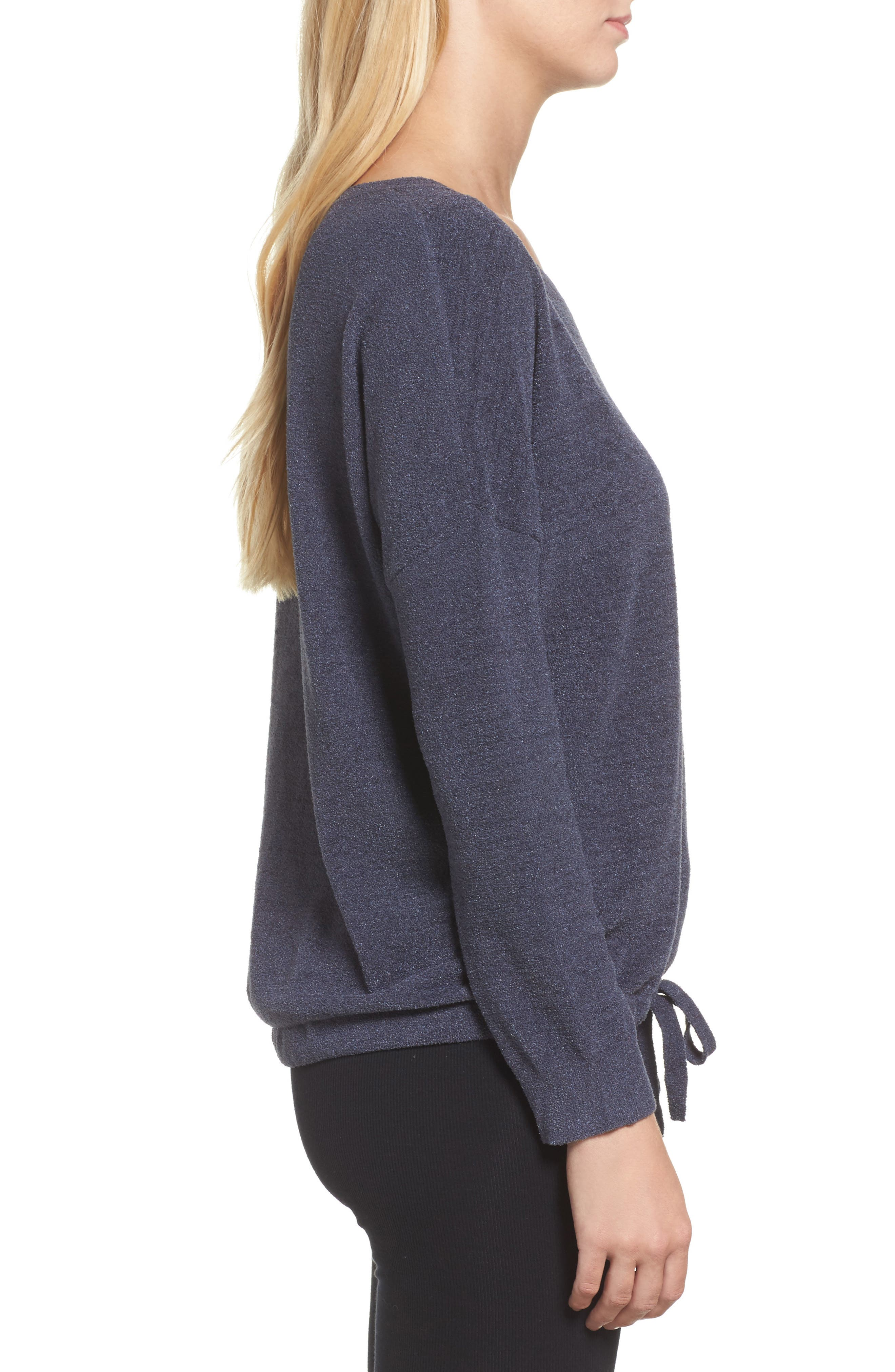 Cozychic Ultra Lite<sup>®</sup> Lounge Pullover,                             Alternate thumbnail 3, color,                             Pacific Blue