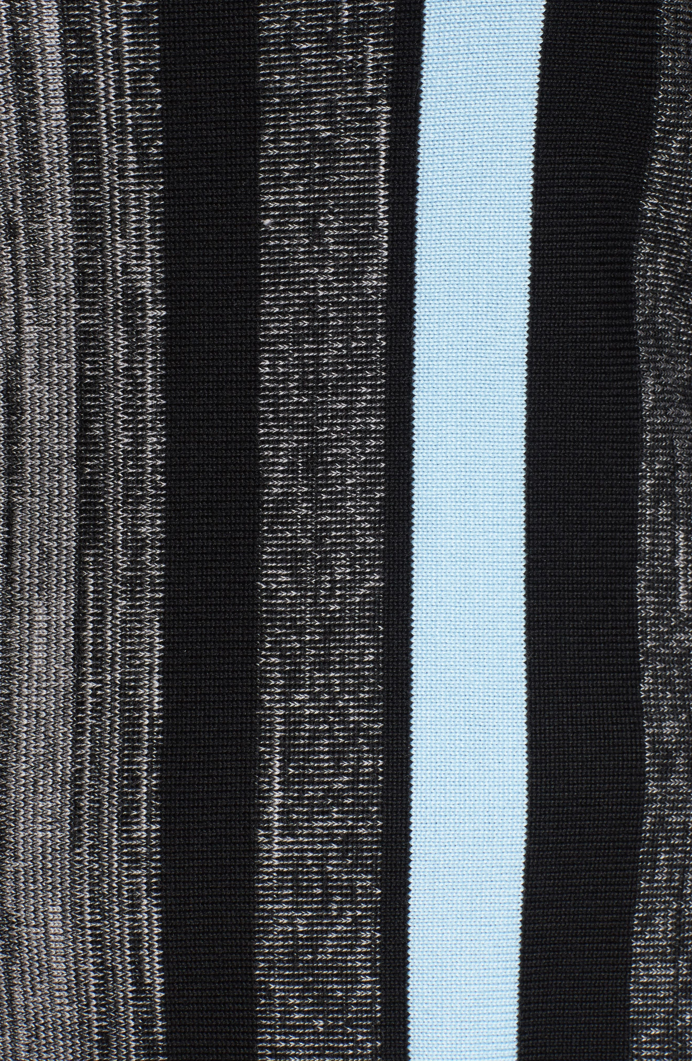 Alternate Image 5  - Ming Wang Fringe Trim Knit Tunic