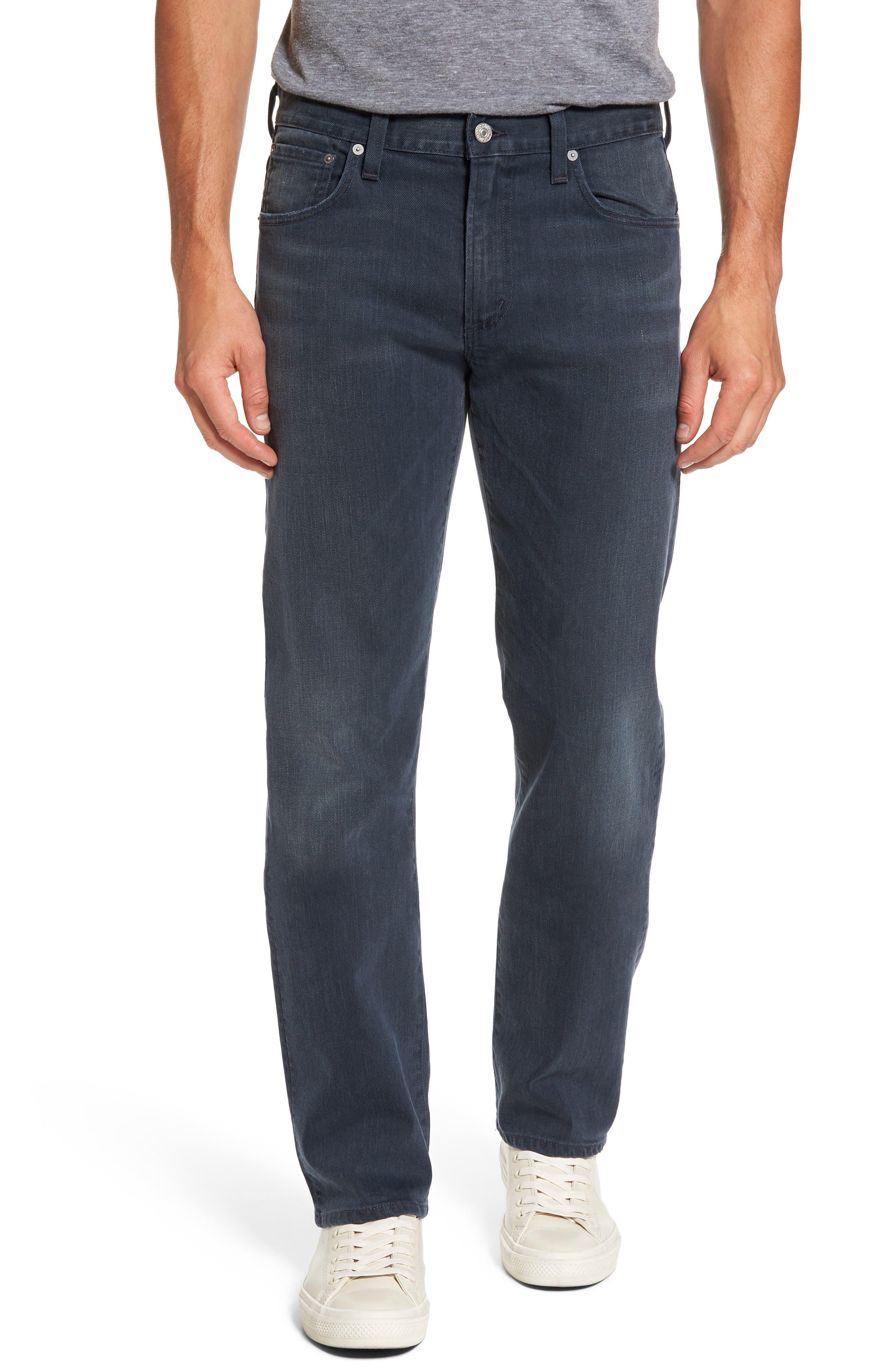 Sid Straight Leg Jeans,                         Main,                         color, Blue Skies