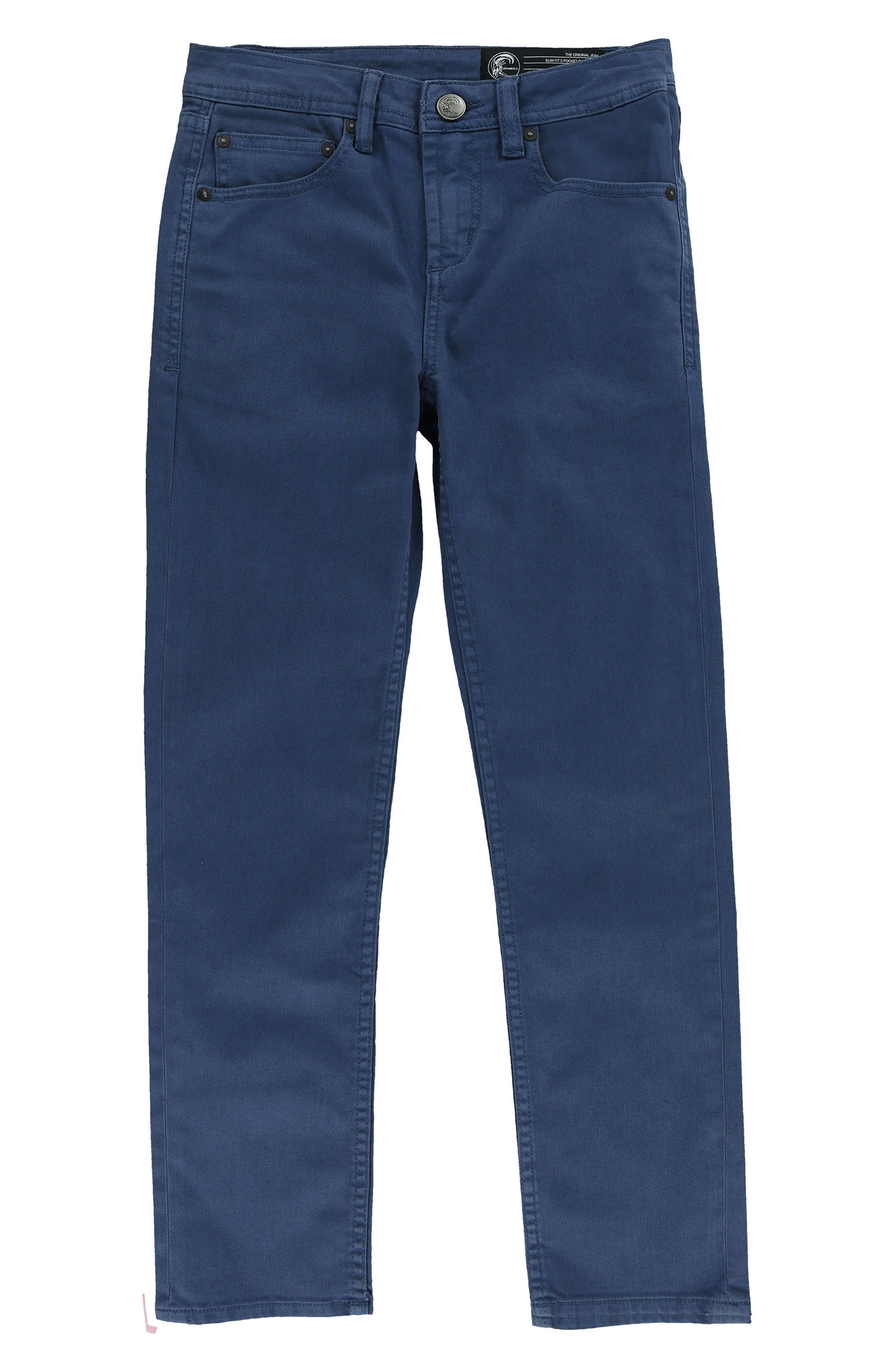 Alternate Image 1 Selected - O'Neill The Slim Twill Pants (Big Boys)