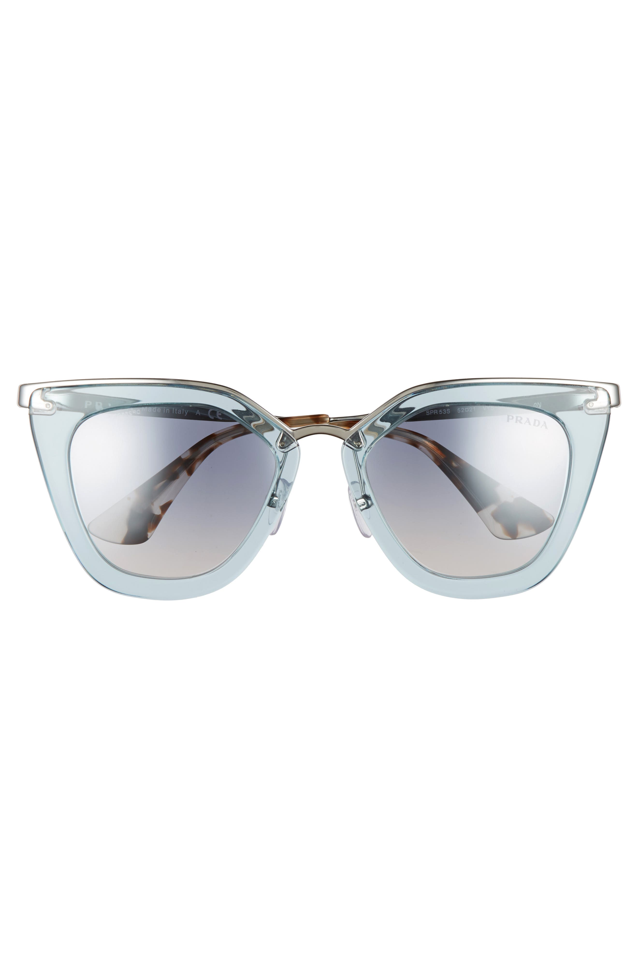 Alternate Image 3  - Prada 52mm Retro Sunglasses