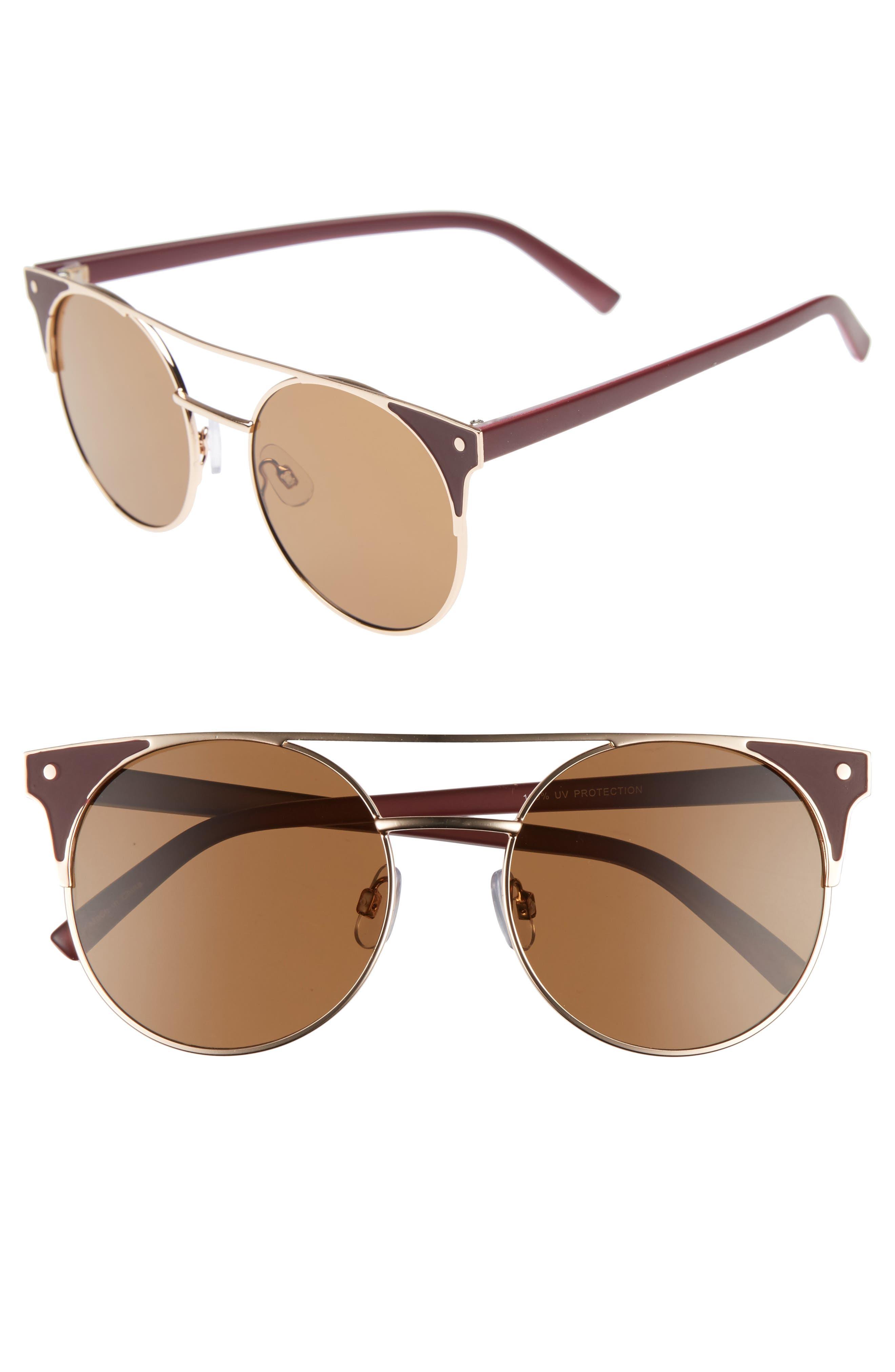BP. 55mm Enameled Sunglasses