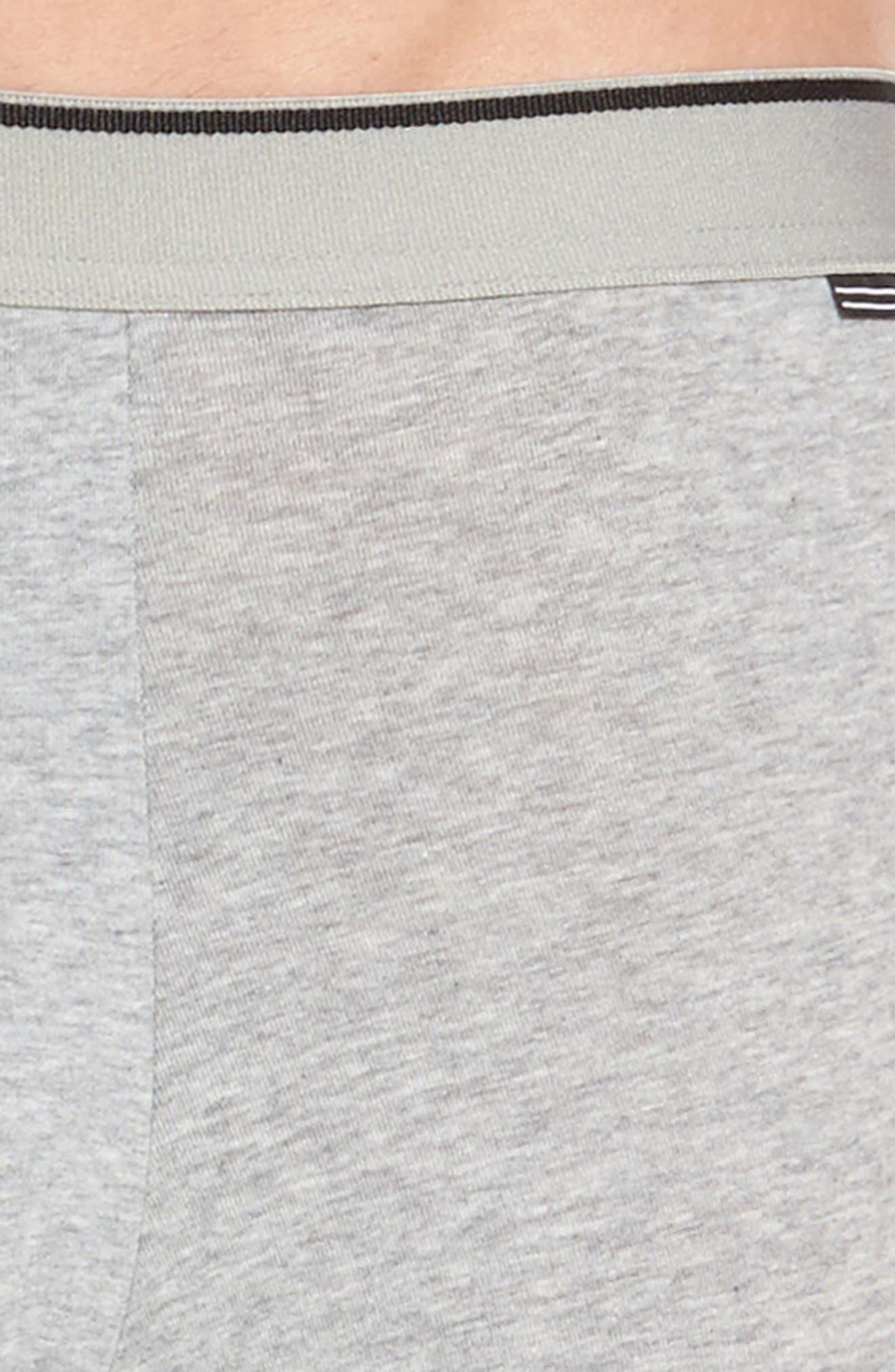 Alternate Image 5  - Nordstrom Men's Shop 3-Pack Stretch Cotton Boxer Briefs
