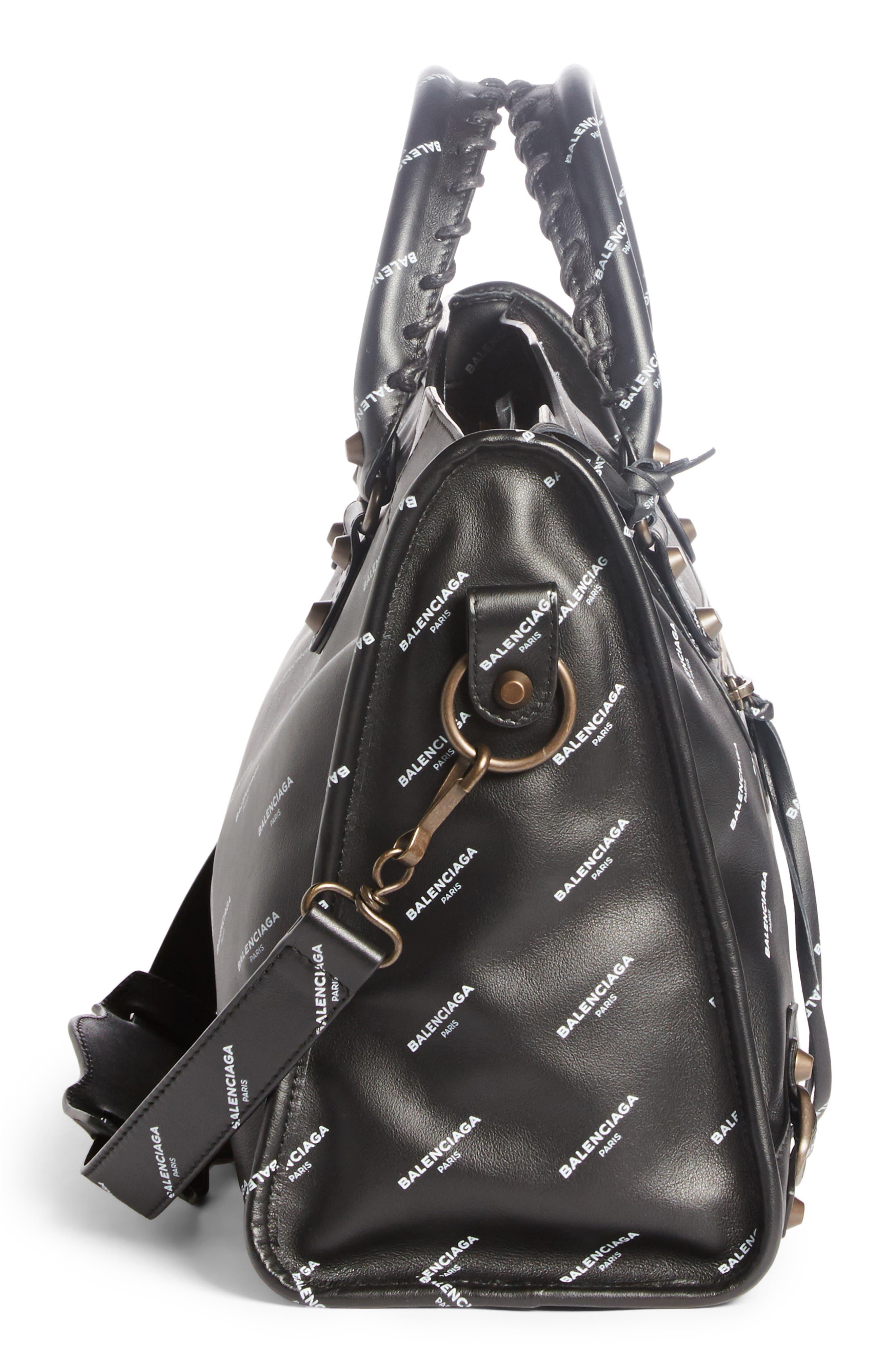 Alternate Image 3  - Balenciaga Classic City Logo Leather Tote