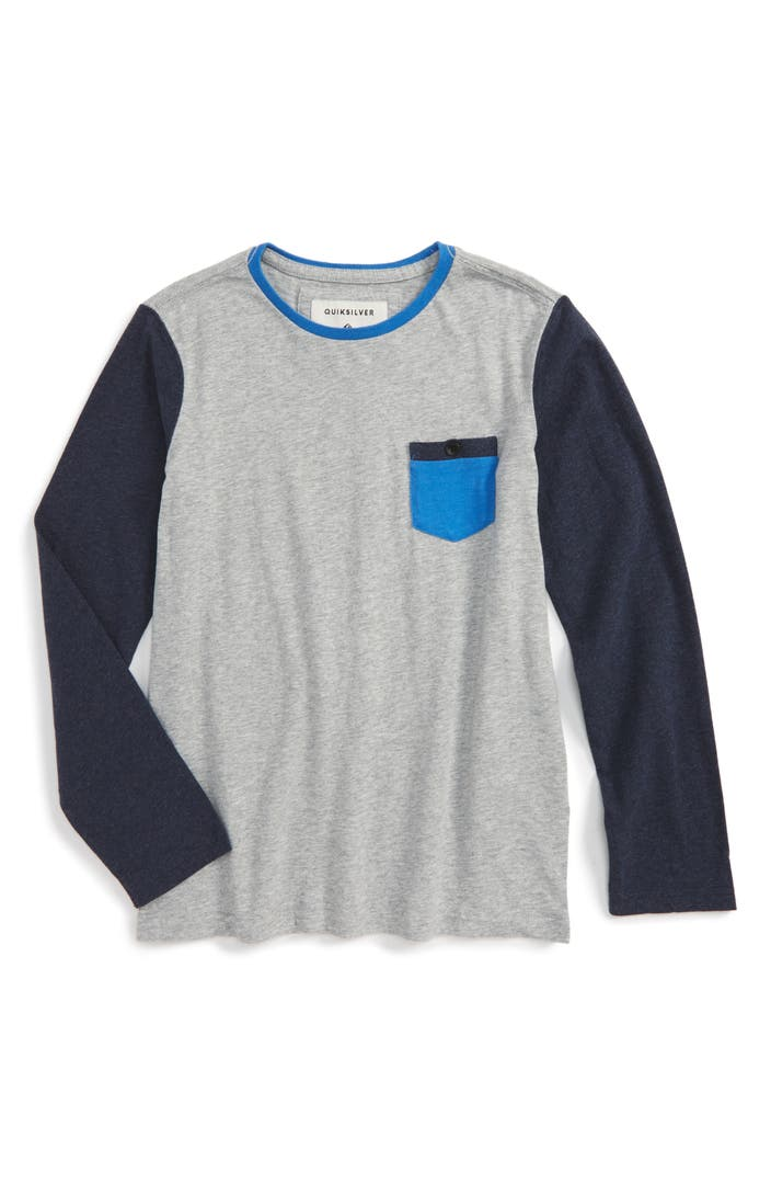 Quiksilver baysic pocket t shirt big boys nordstrom for Boys pocket t shirt