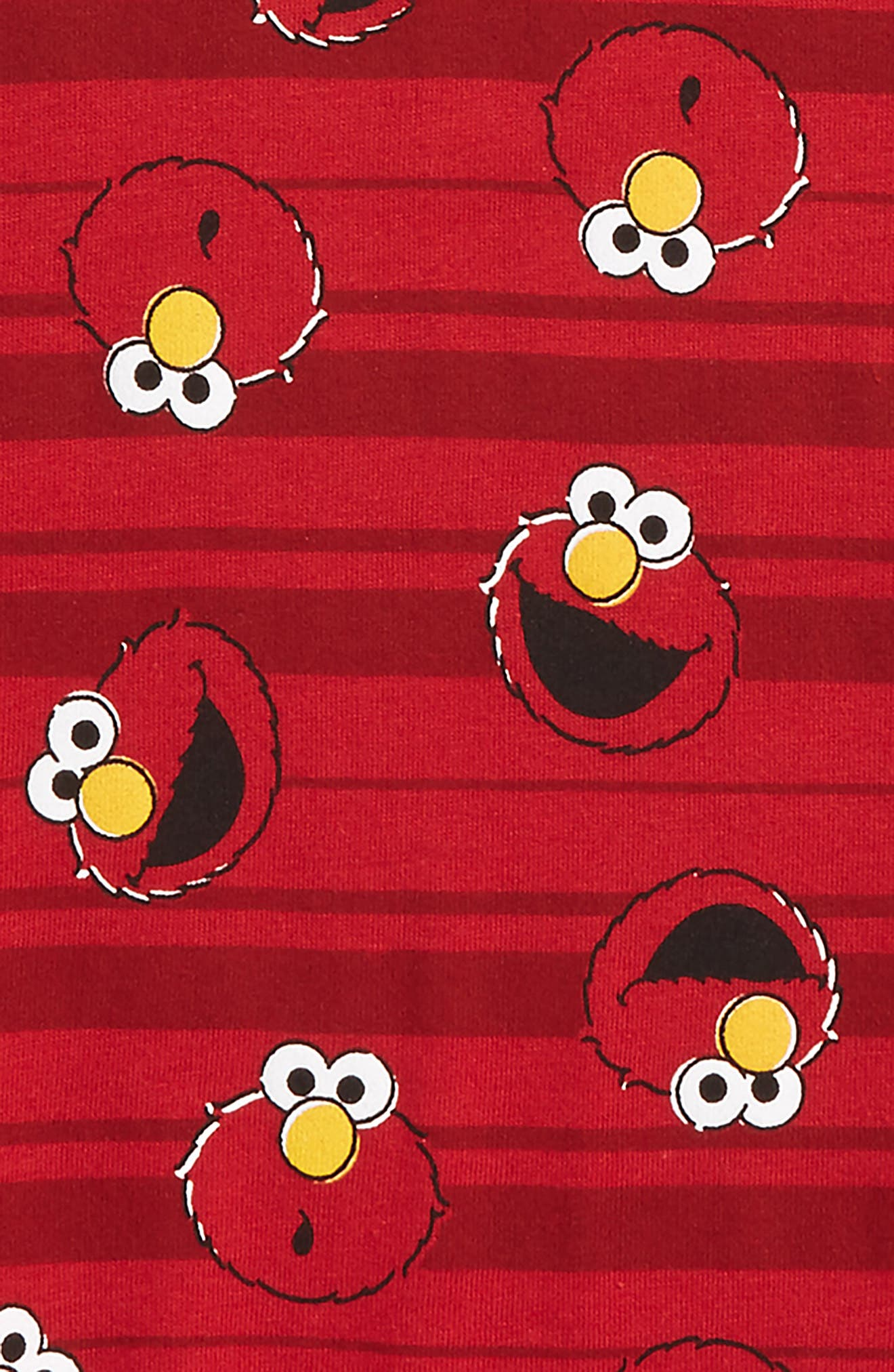 Alternate Image 2  - Mighty Fine Elmo Stripes T-Shirt (Toddler Boys & Little Boys)