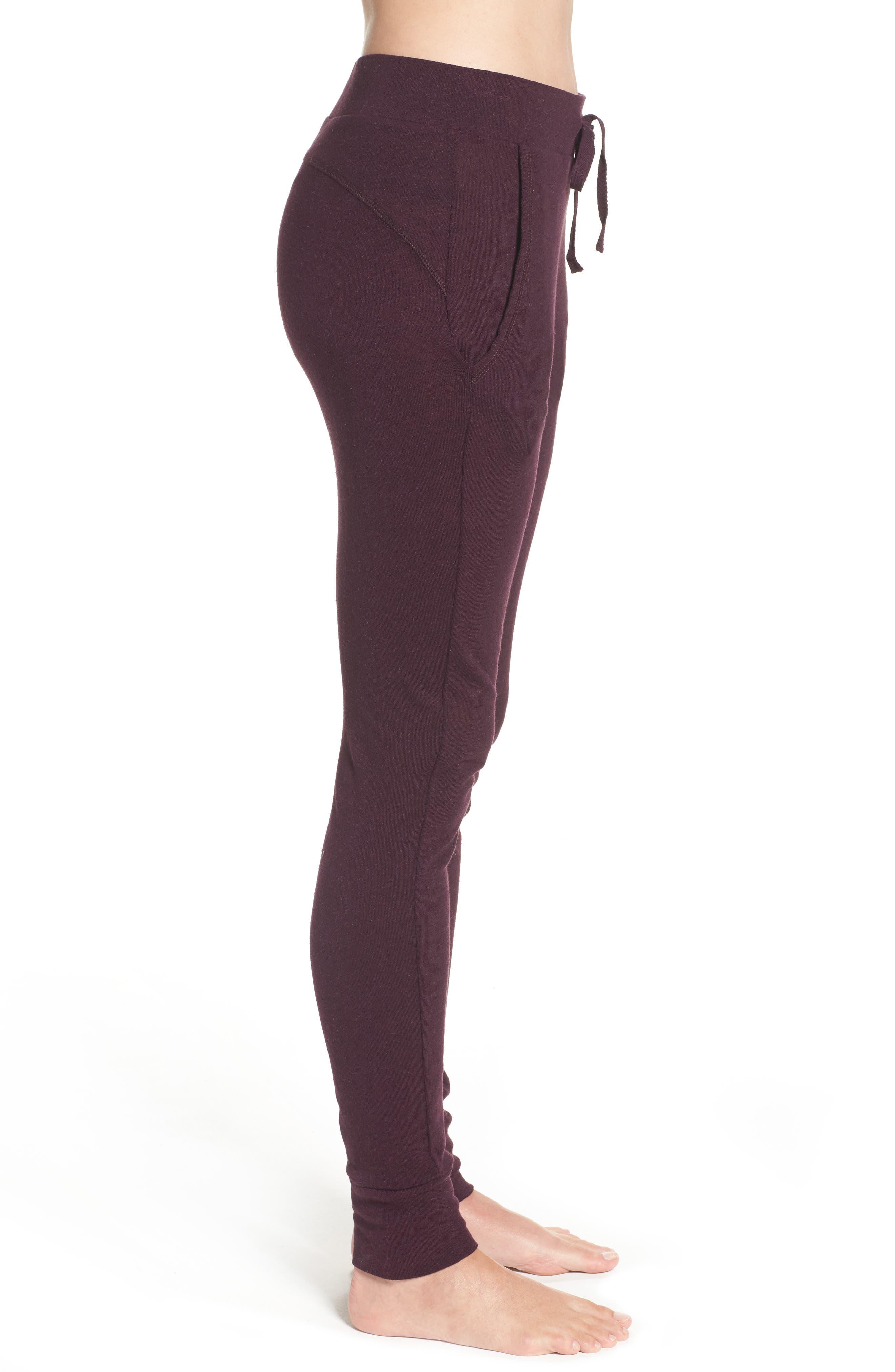 Alternate Image 3  - UGG® Clementine Cotton & Silk Pajama Pants