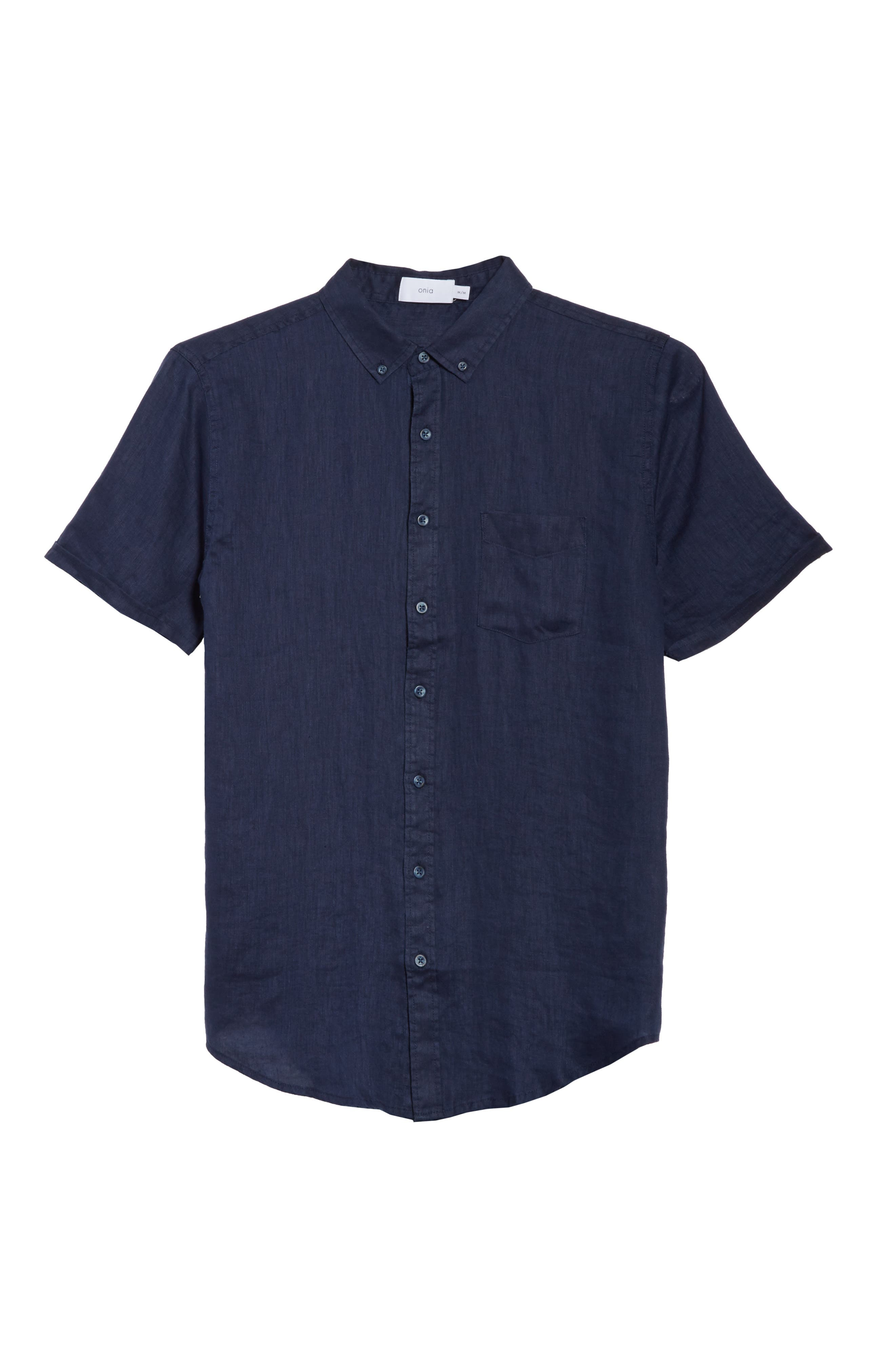 Alternate Image 6  - ONIA Jack Linen Sport Shirt