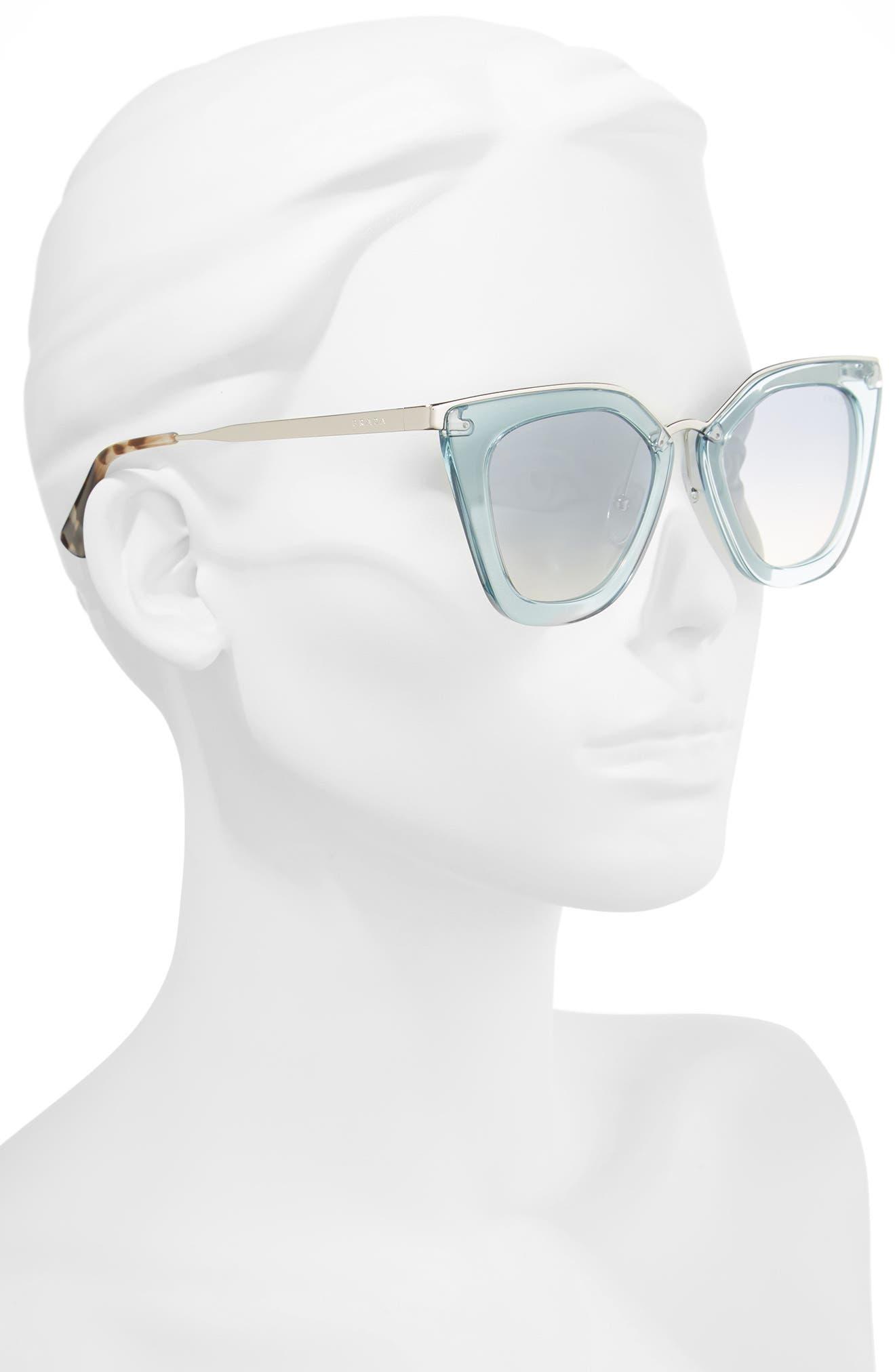 Alternate Image 2  - Prada 52mm Retro Sunglasses