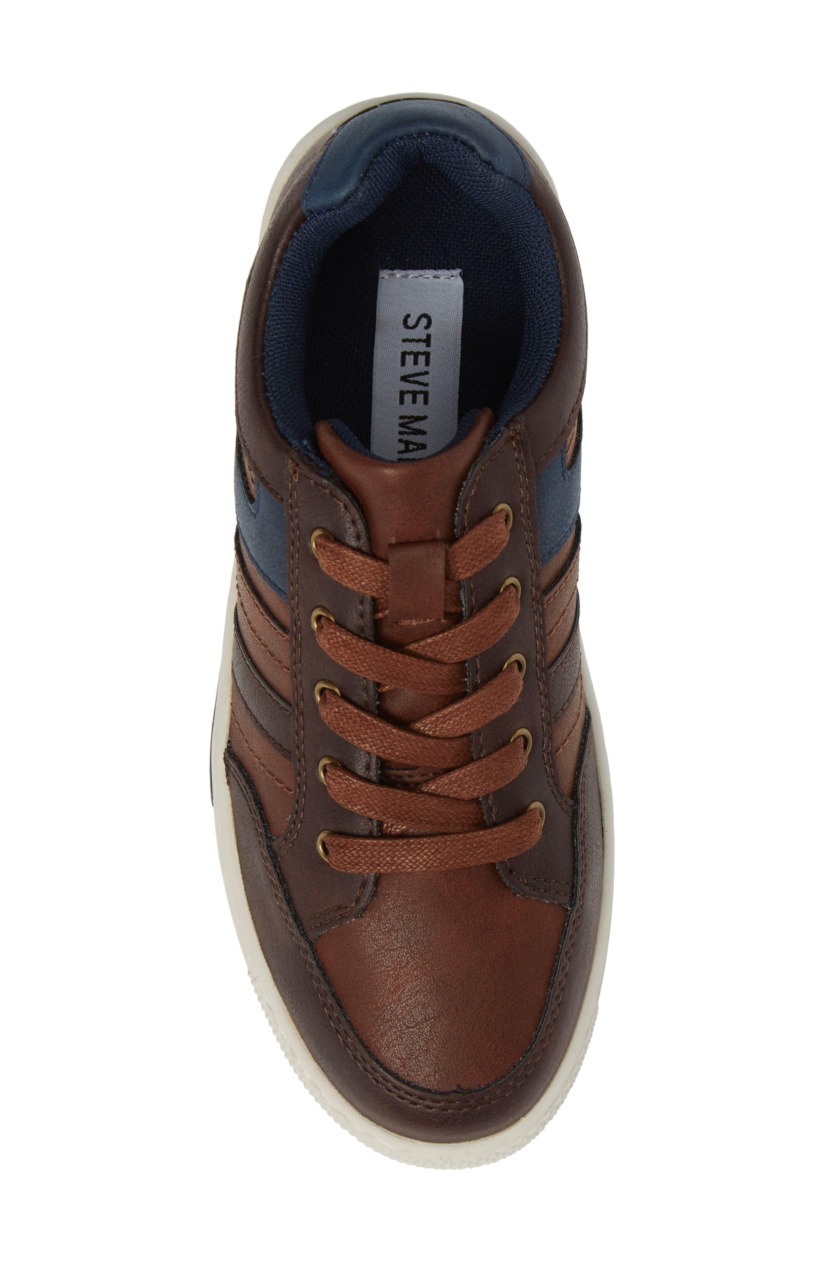 Trakk Sneaker,                             Alternate thumbnail 5, color,                             Brown Multi