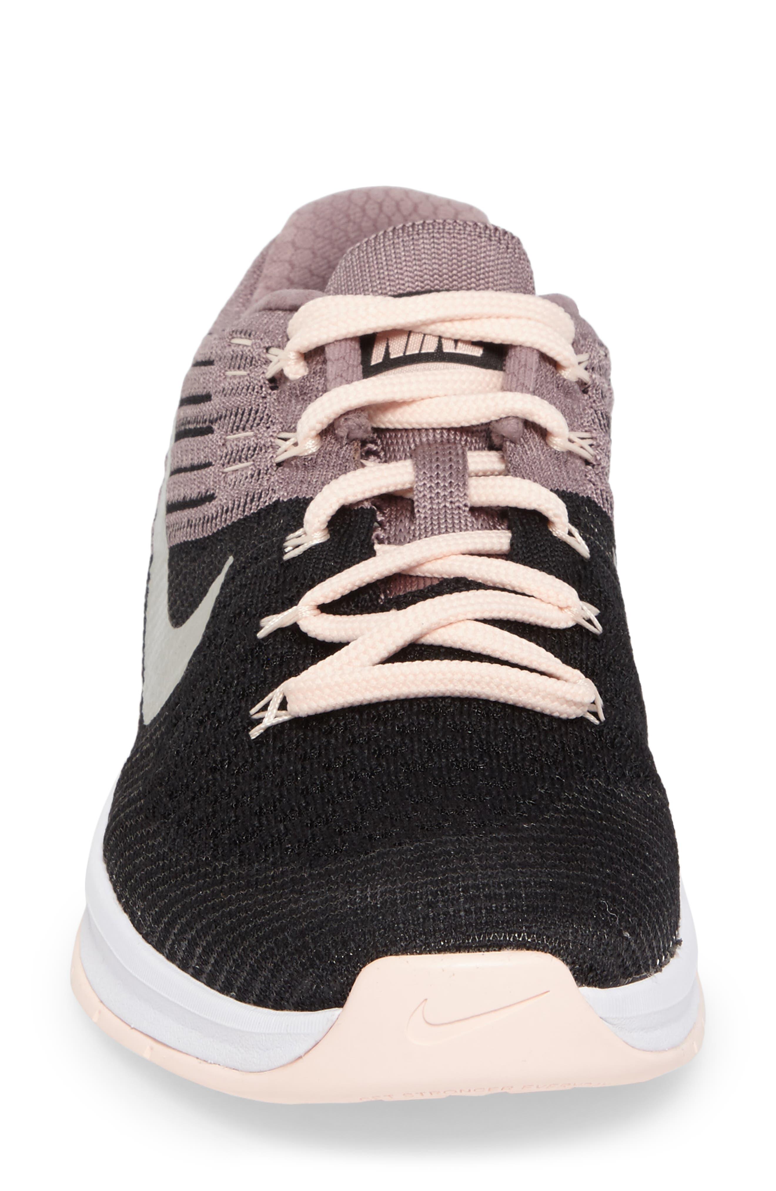 Alternate Image 4  - Nike Metcon DSX Flyknit Chrome Blush Training Shoe (Women)