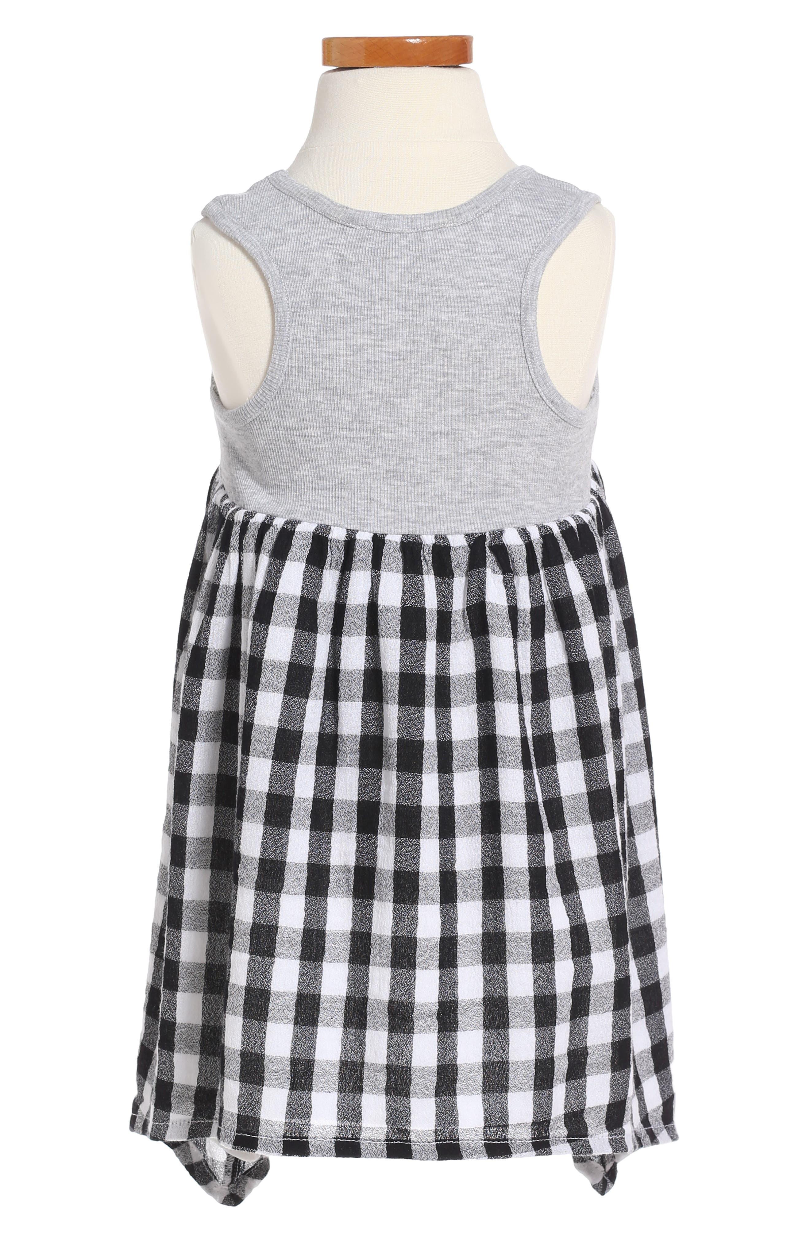Alternate Image 2  - Tucker + Tate Mixed Media Dress (Toddler Girls, Little Girls & Big Girls)