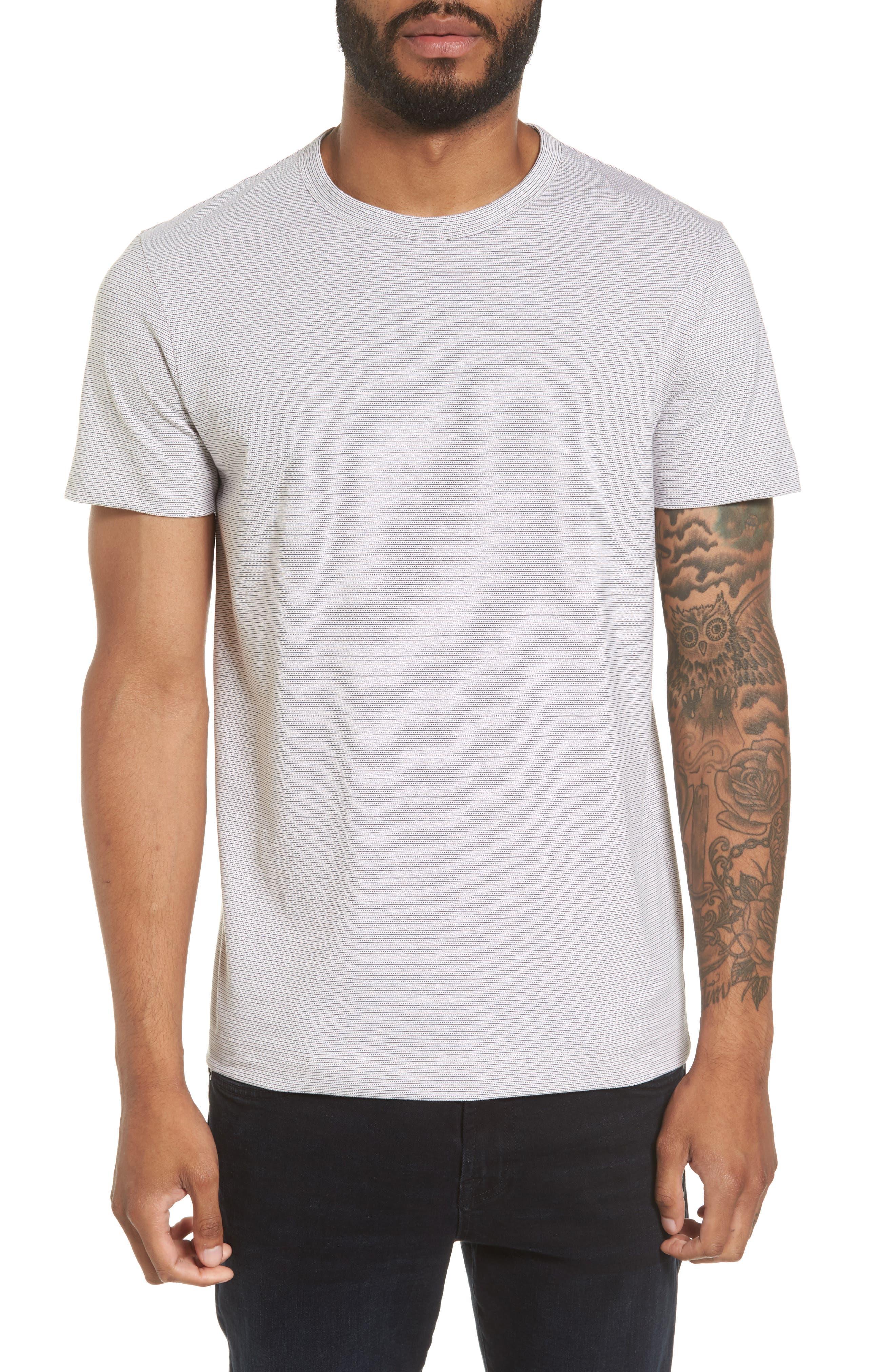 THEORY Gaskell N Dot Stripe T-Shirt