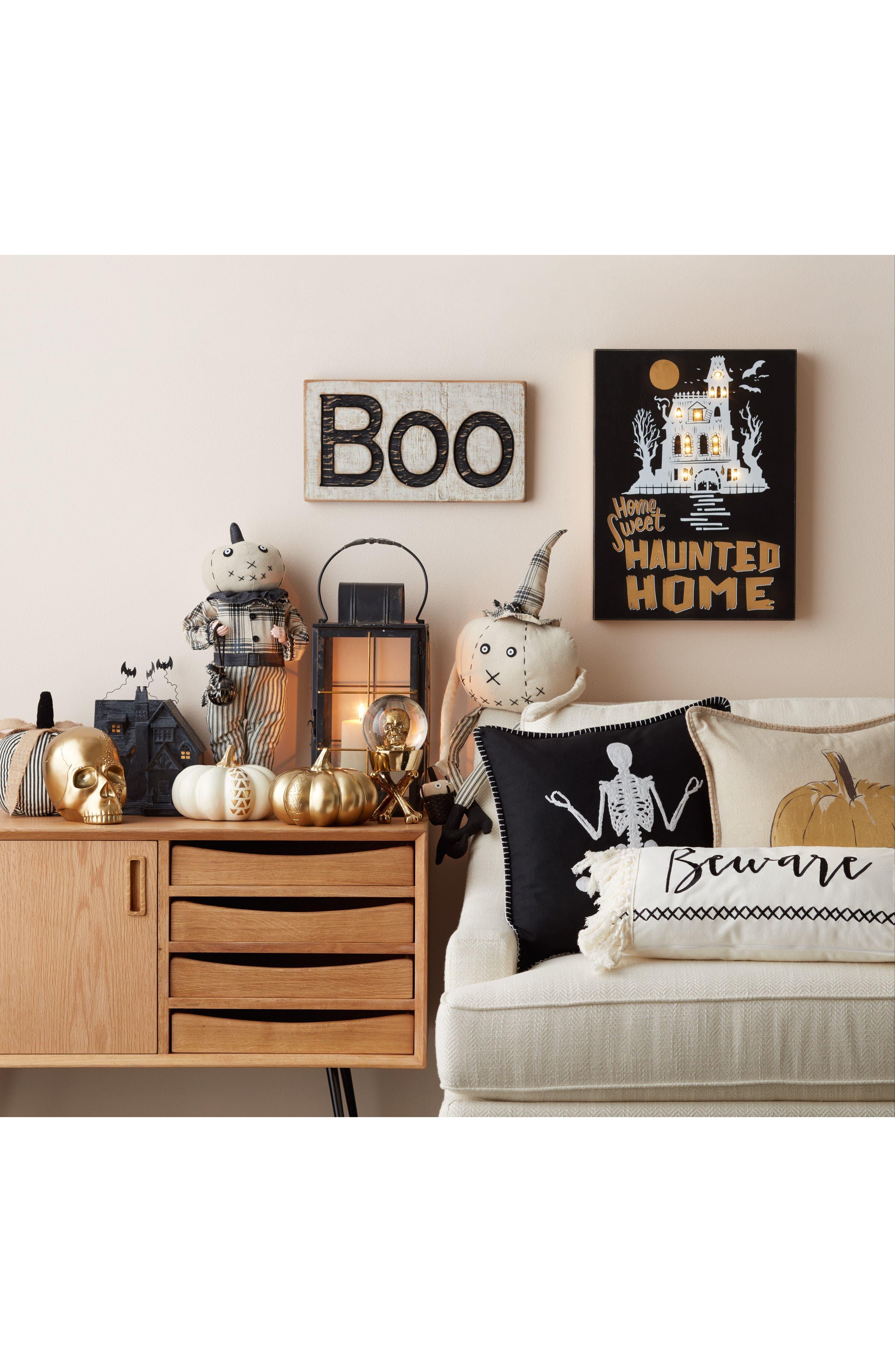 Pumpkin Person Decoration,                             Alternate thumbnail 2, color,
